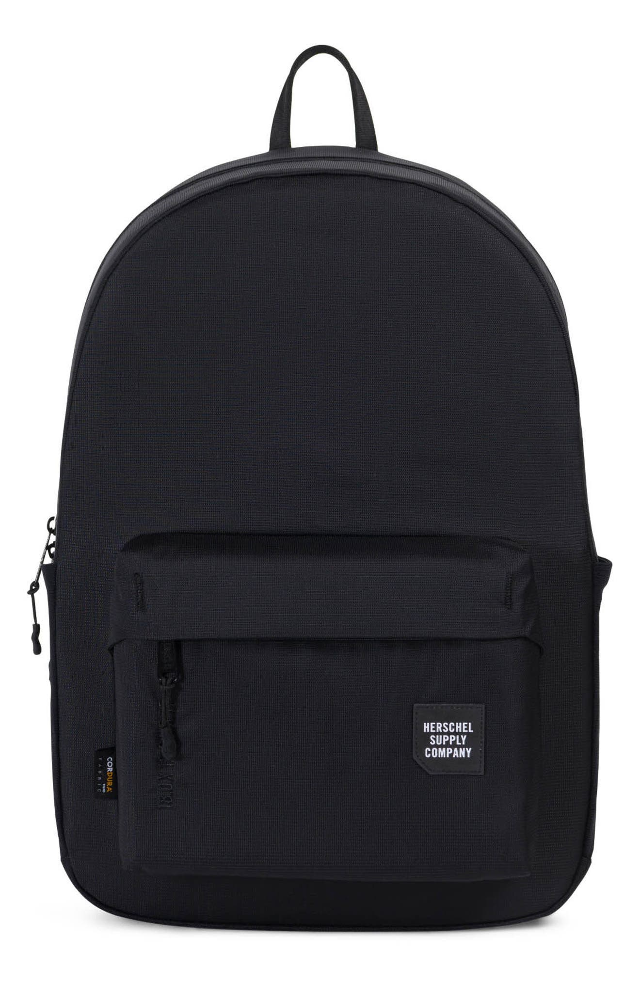 Rundle Trail Backpack,                             Main thumbnail 1, color,                             Black