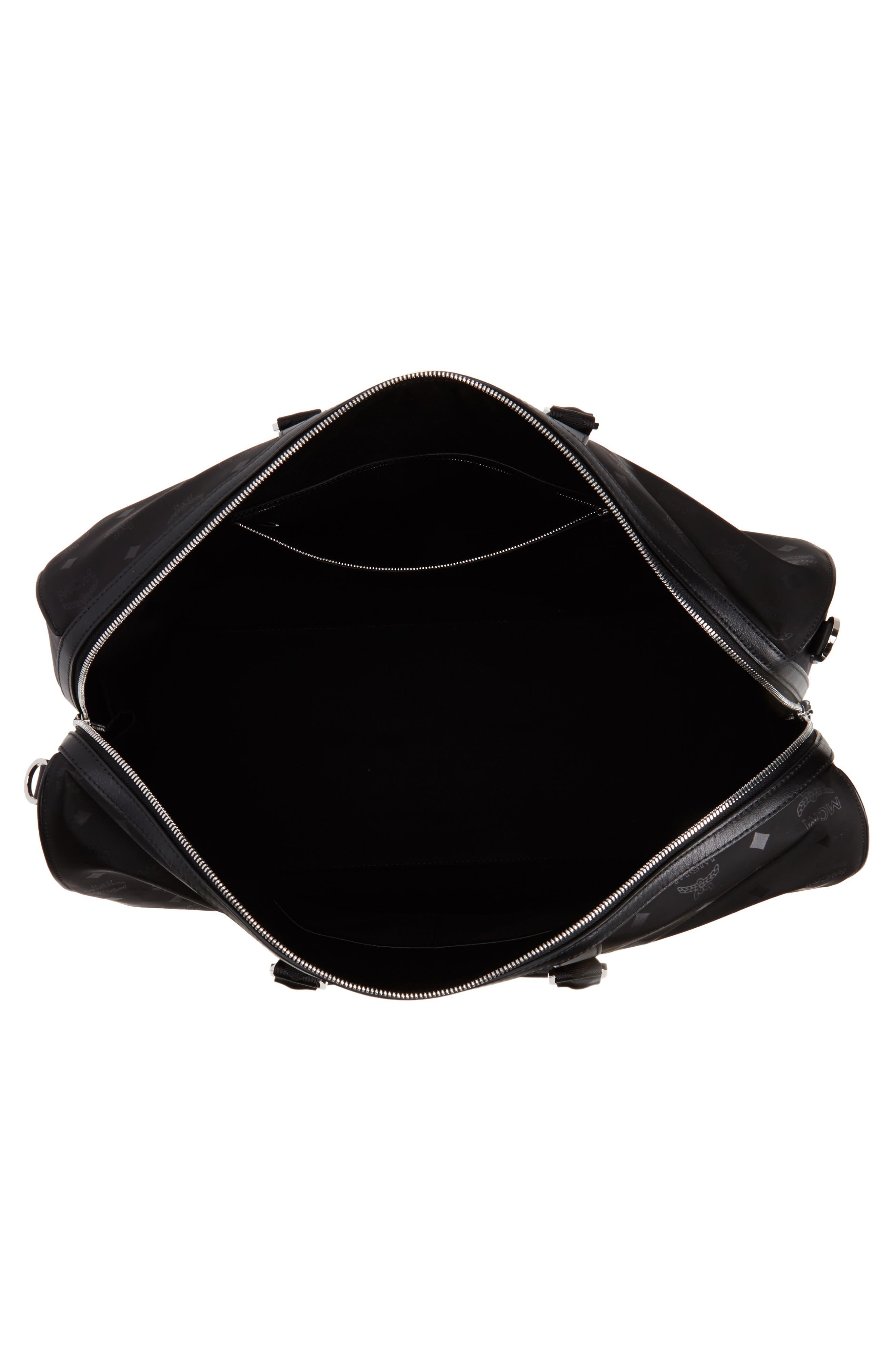 Alternate Image 5  - MCM Logo Nylon Duffel Bag