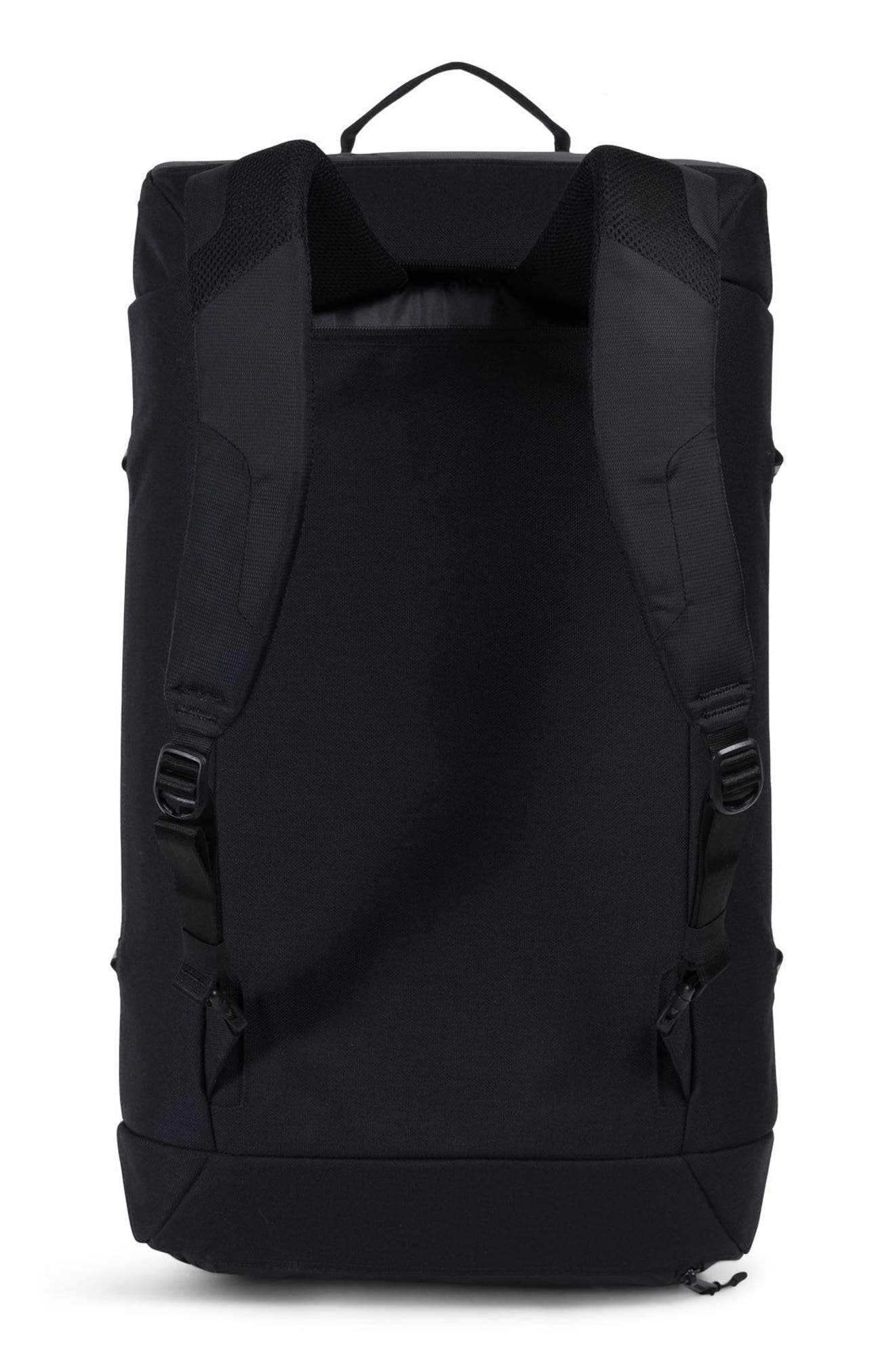 Trail Gorge Duffel Bag,                             Alternate thumbnail 2, color,                             Black
