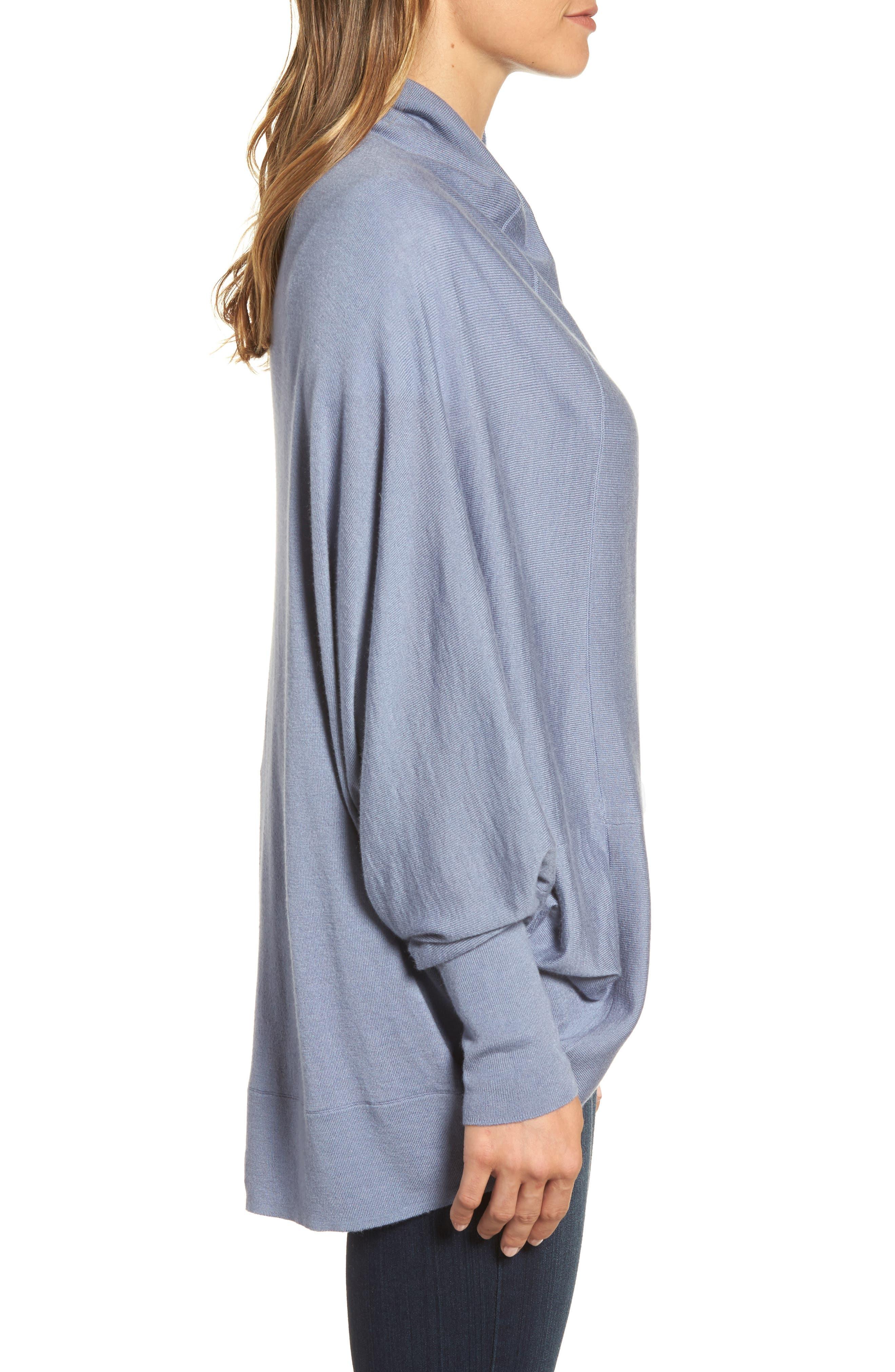 Alternate Image 3  - Nordstrom Knit Cocoon Cardigan