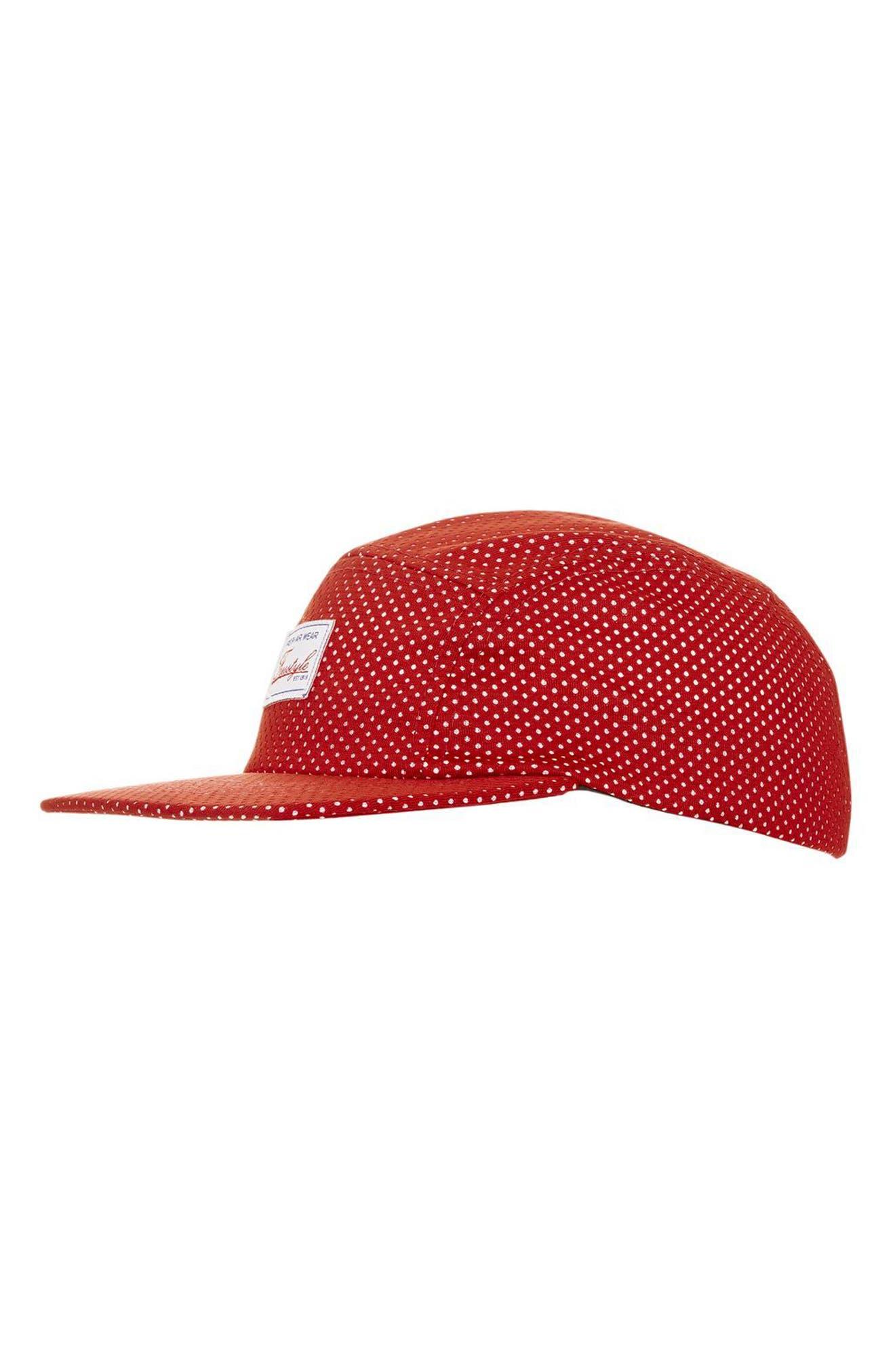 TOPSHOP Airtex Baseball Cap