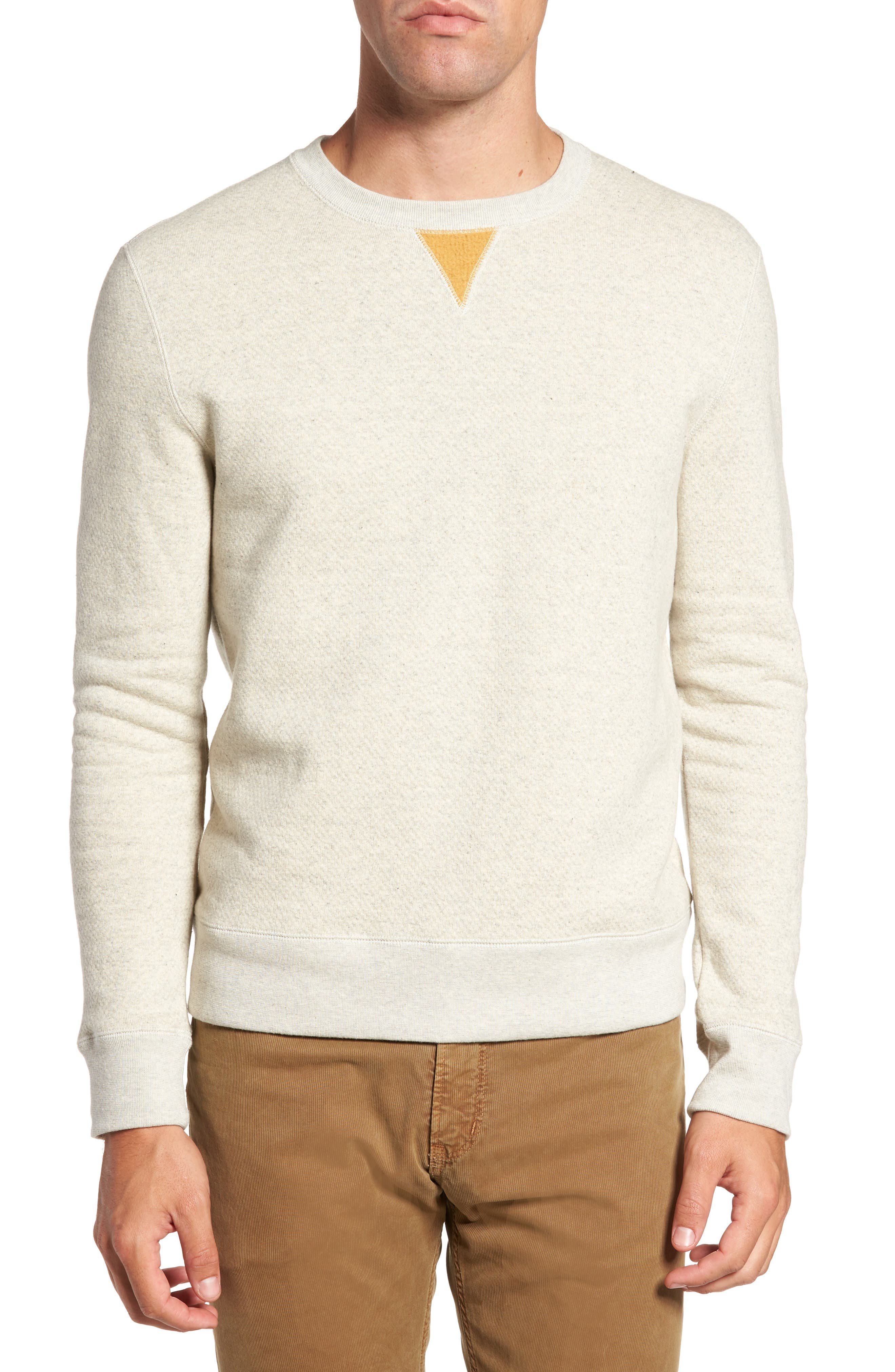 Alternate Image 1 Selected - Billy Reid Cotton Fleece Sweatshirt