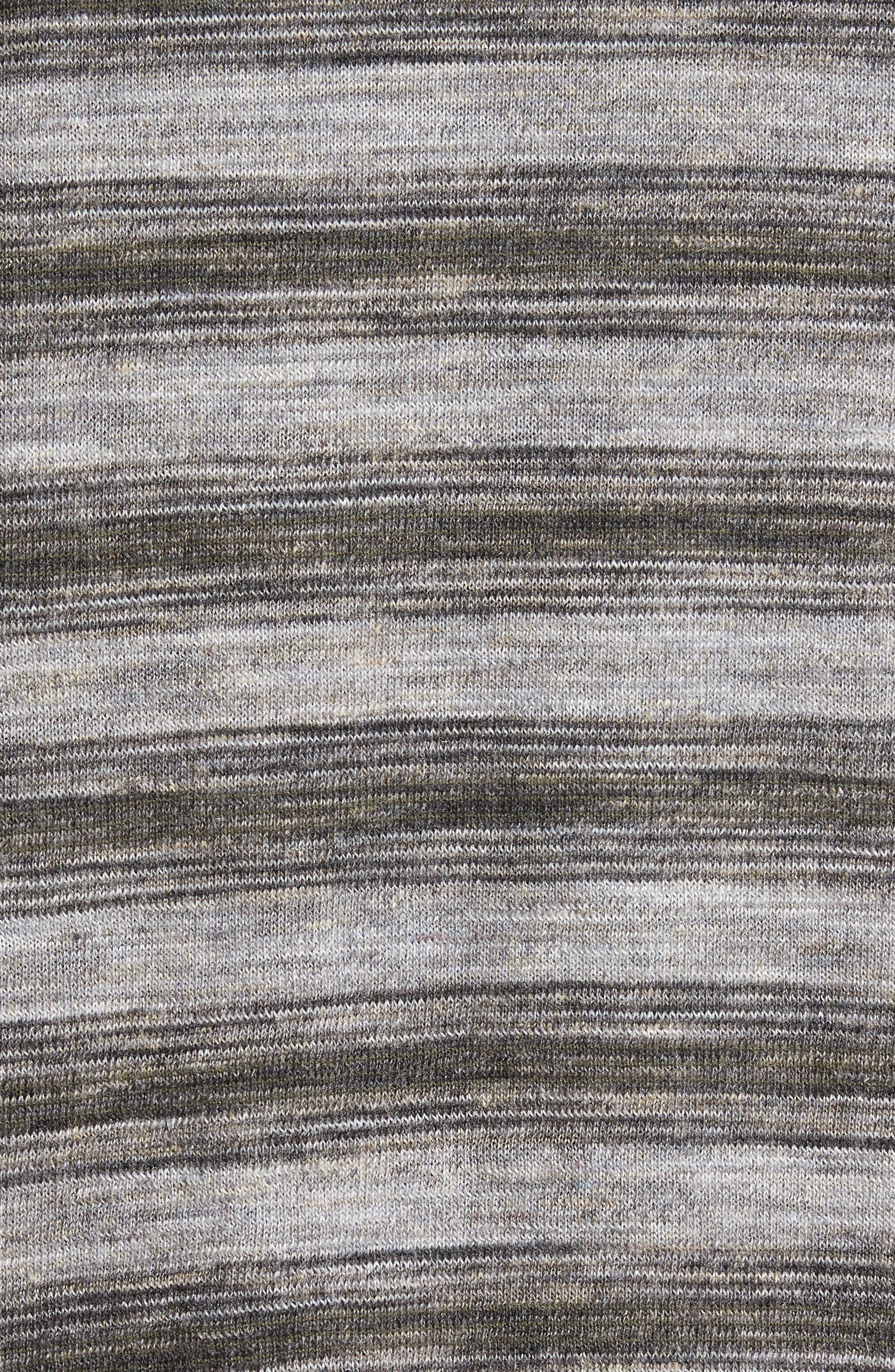 Alternate Image 4  - Billy Reid Reverse Stripe Sweater