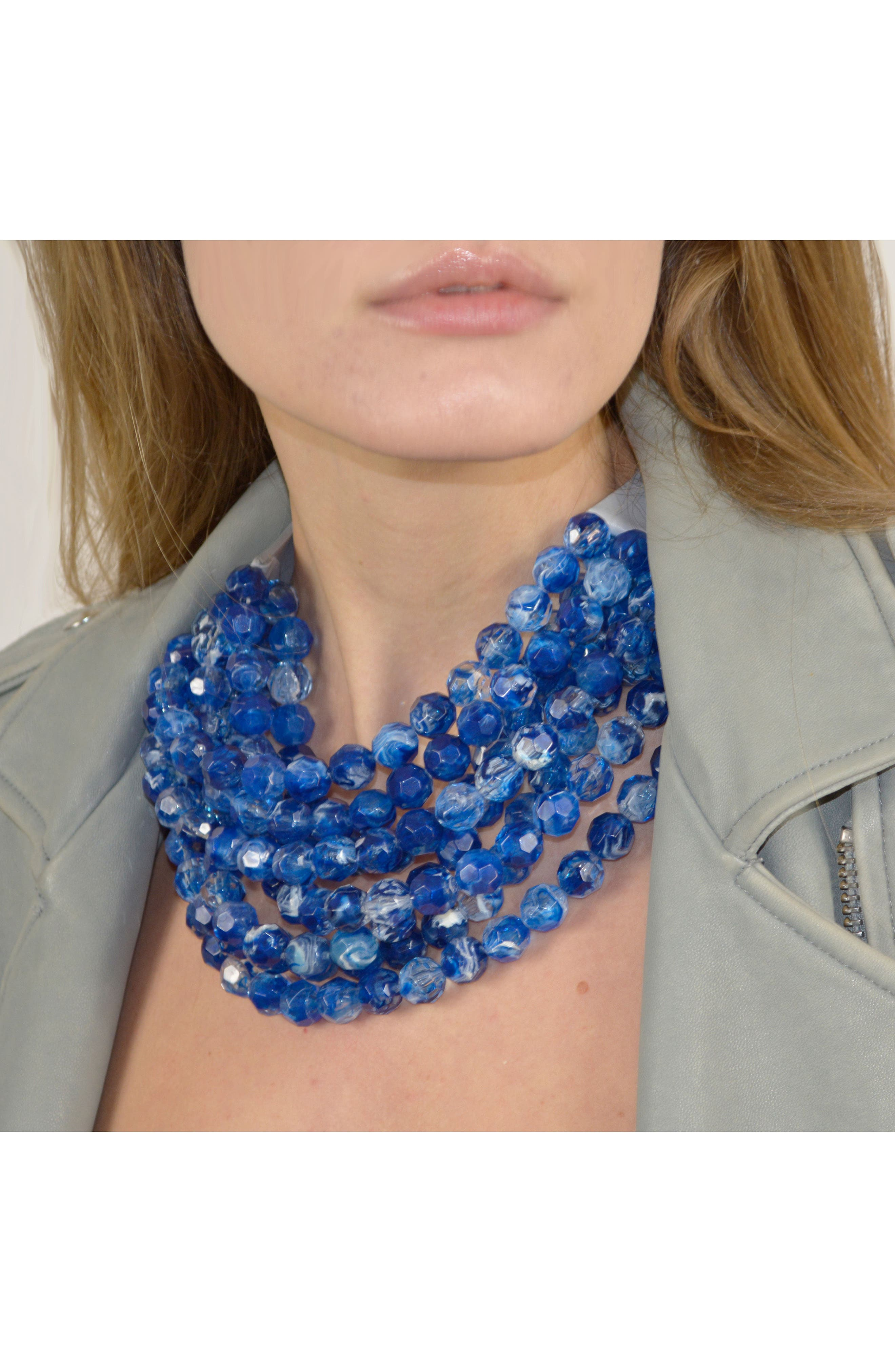 Alternate Image 4  - Fairchild Baldwin Bella Beaded Collar Necklace