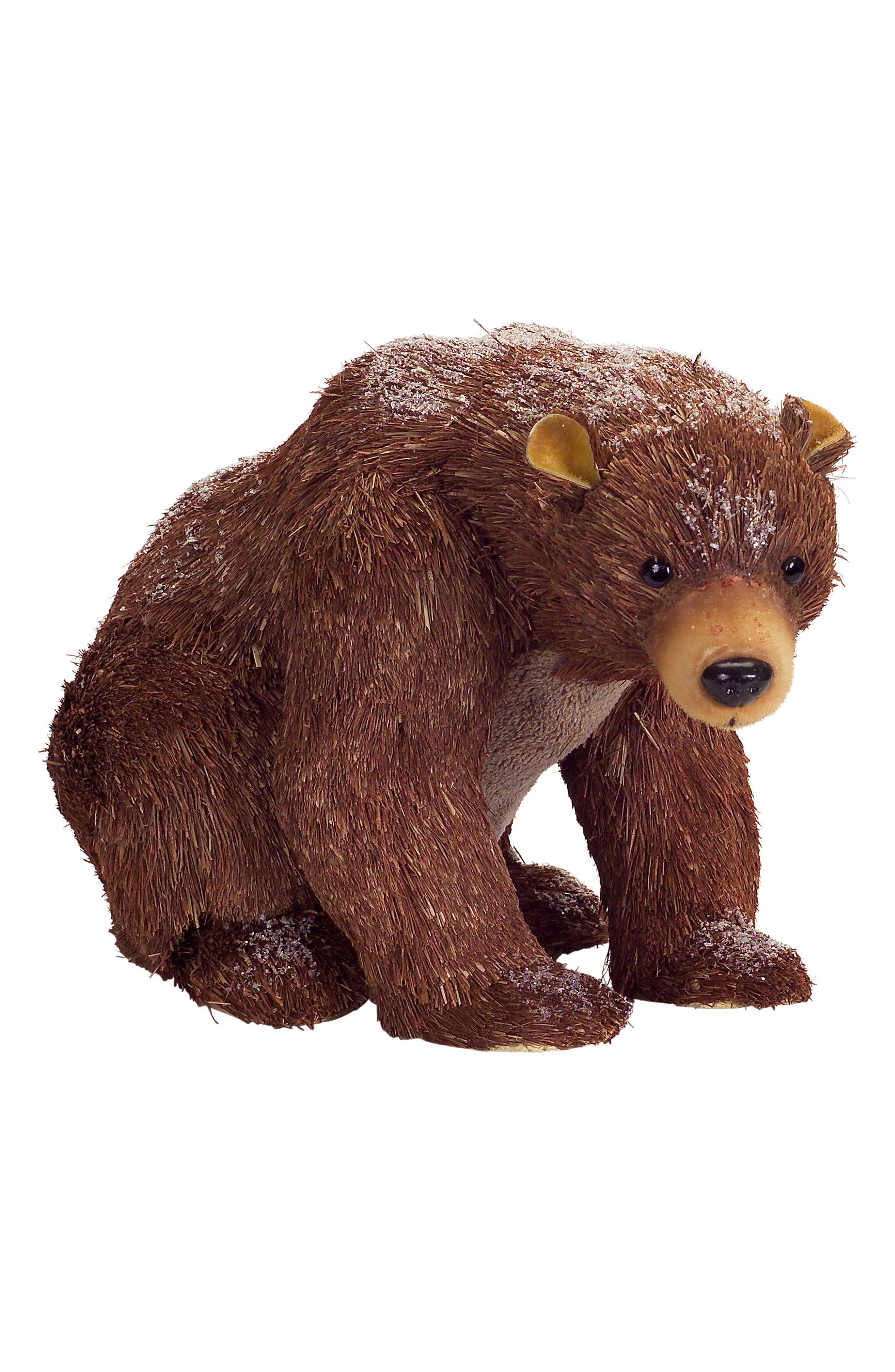 Sitting Bear Decoration,                         Main,                         color, Brown