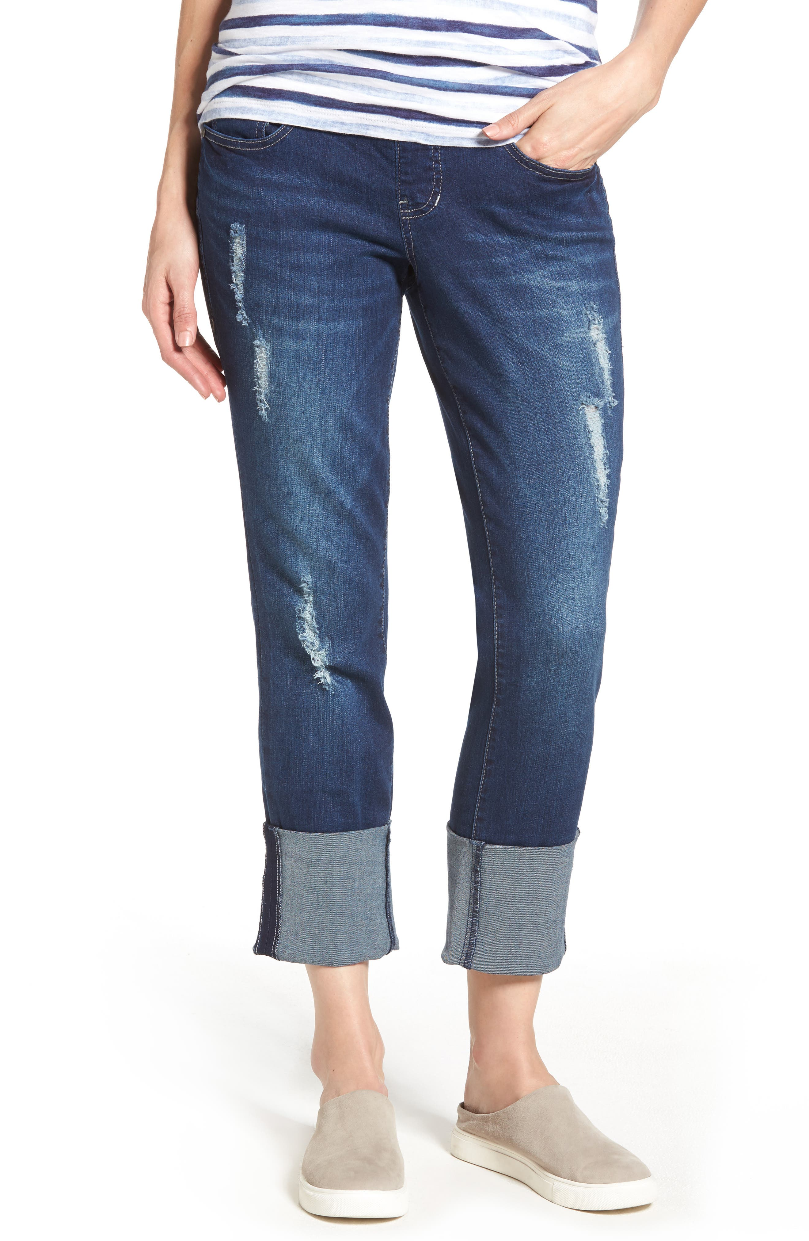 Jag Jeans Lewis Cuffed Straight Leg Jeans
