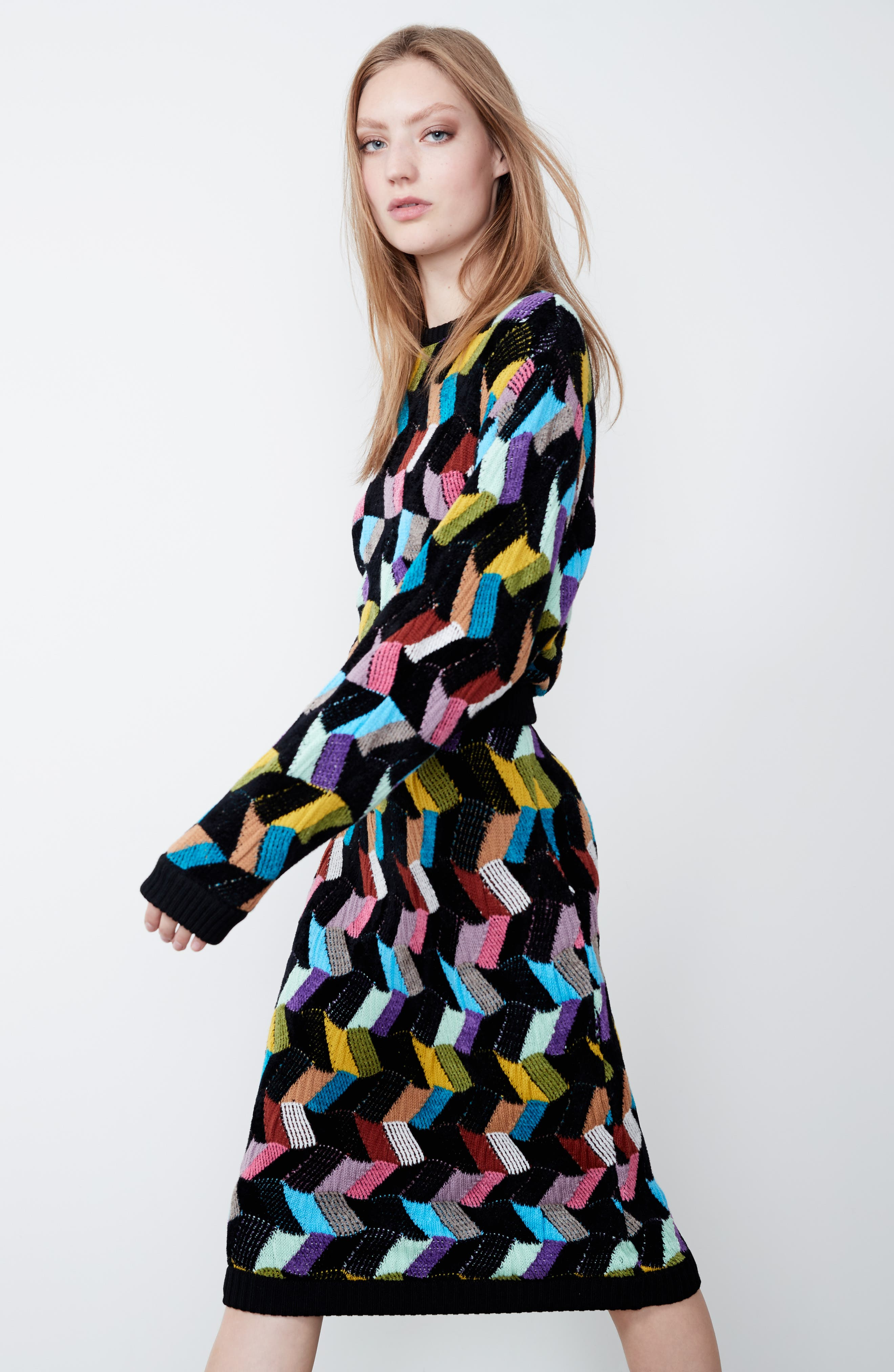 Alternate Image 8  - Missoni Multi Knit Pencil Skirt