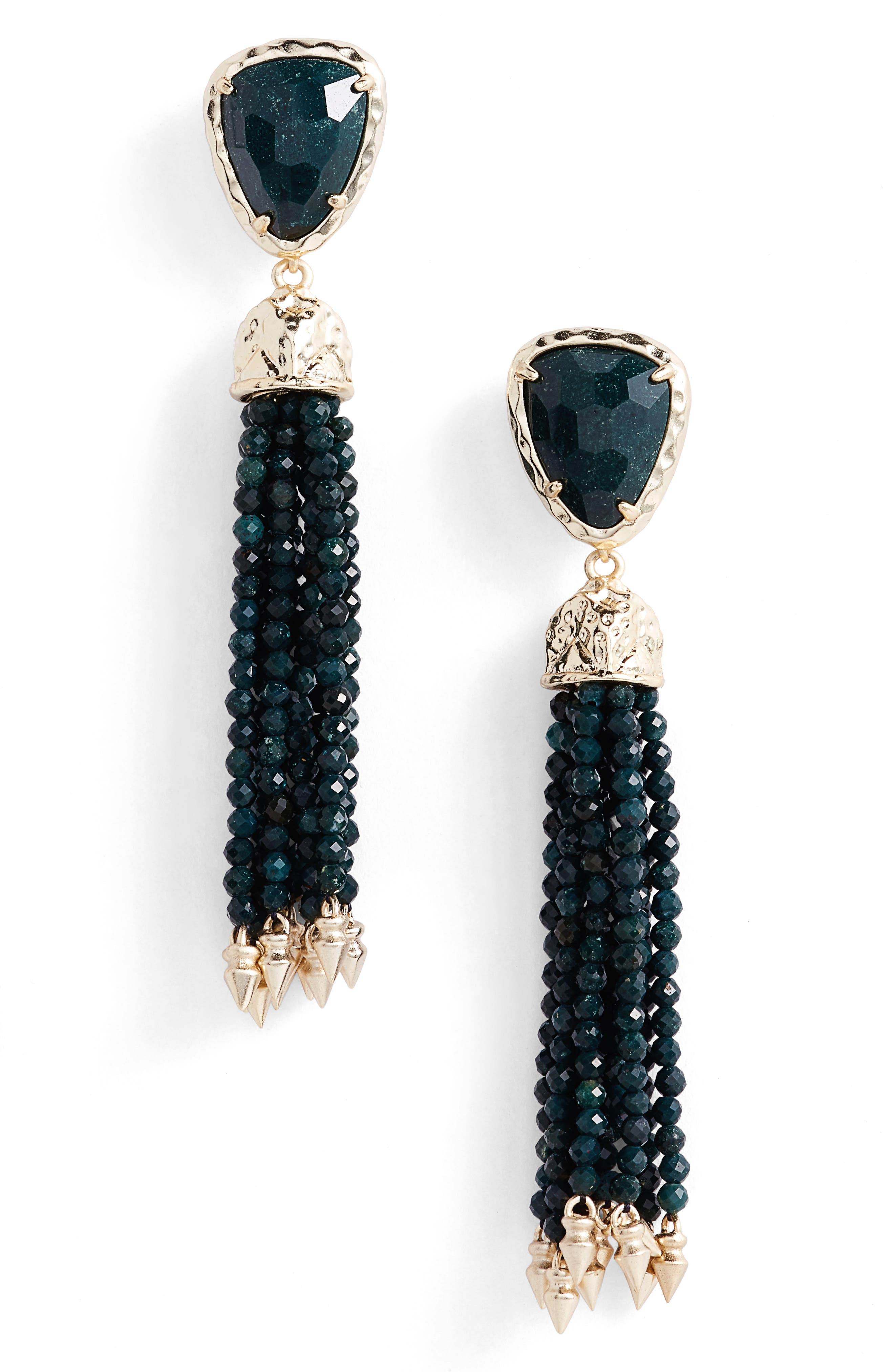 Alternate Image 1 Selected - Kendra Scott Blossom Tassel Drop Earrings