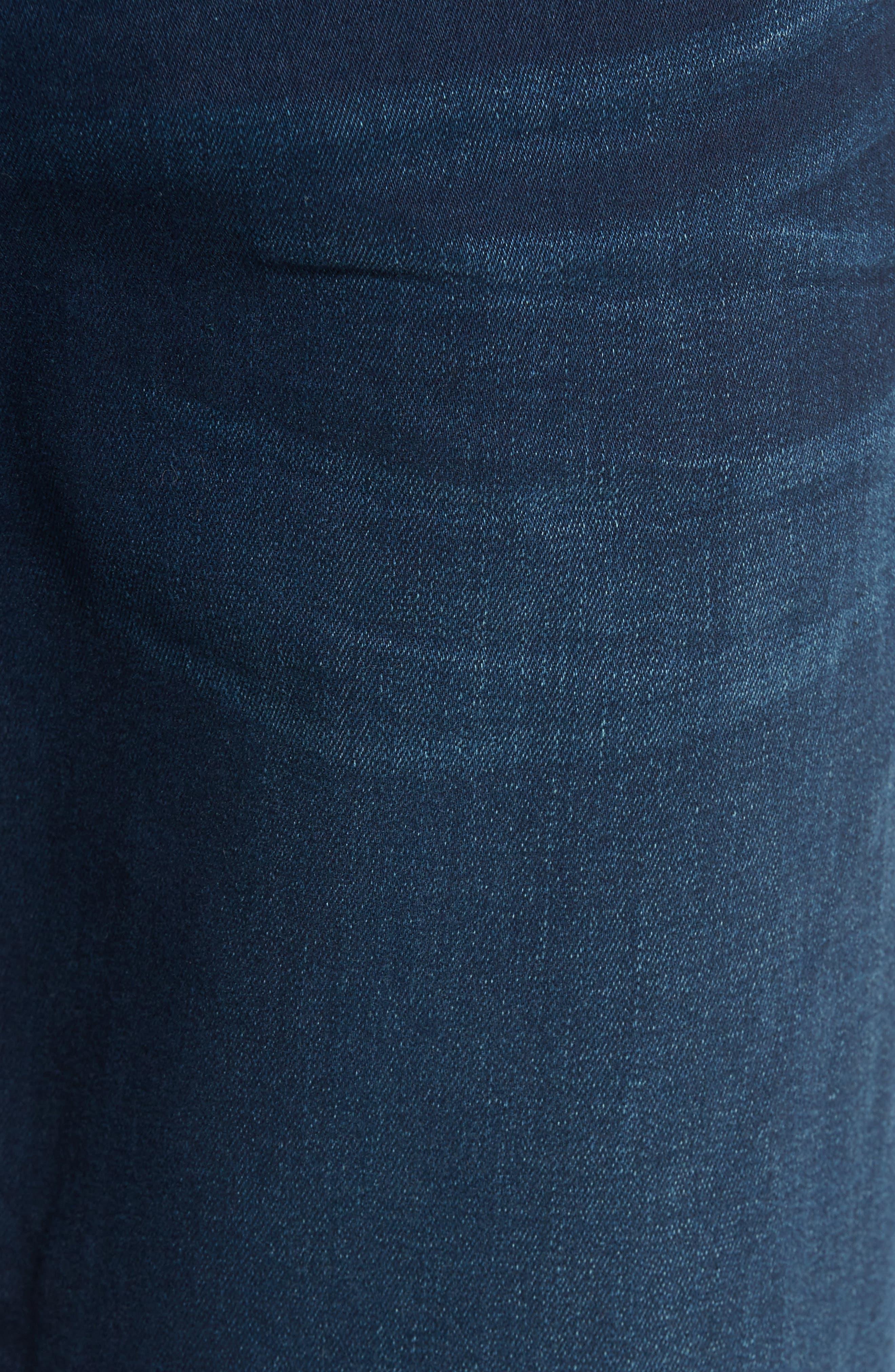 Jake Slim Fit Jeans,                             Alternate thumbnail 5, color,                             Ink Brushed Williamsburg