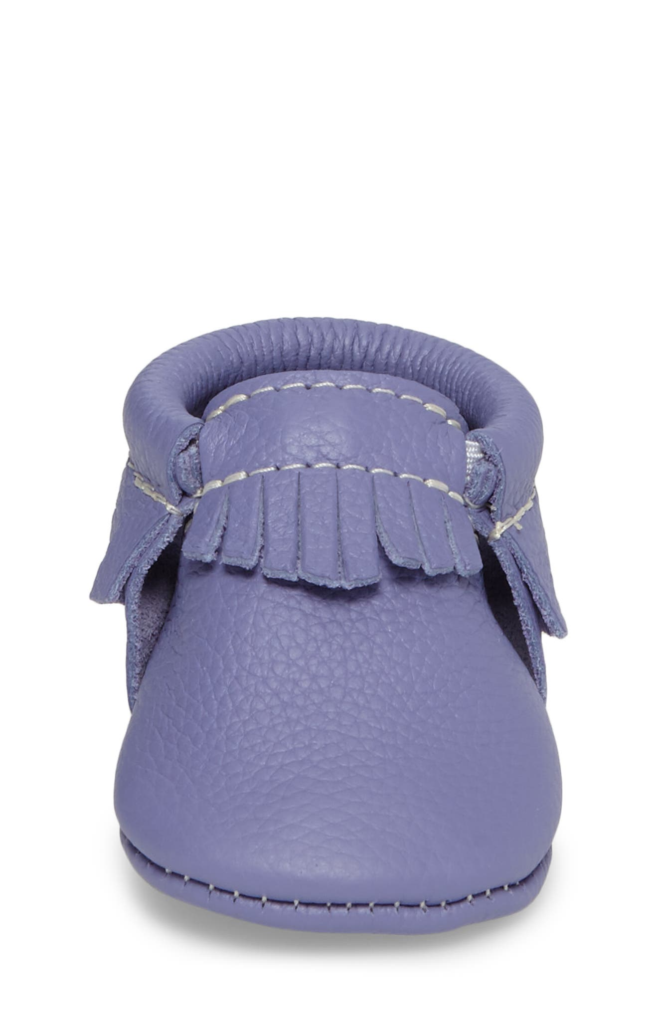 Classic Moccasin,                             Alternate thumbnail 4, color,                             Lilac