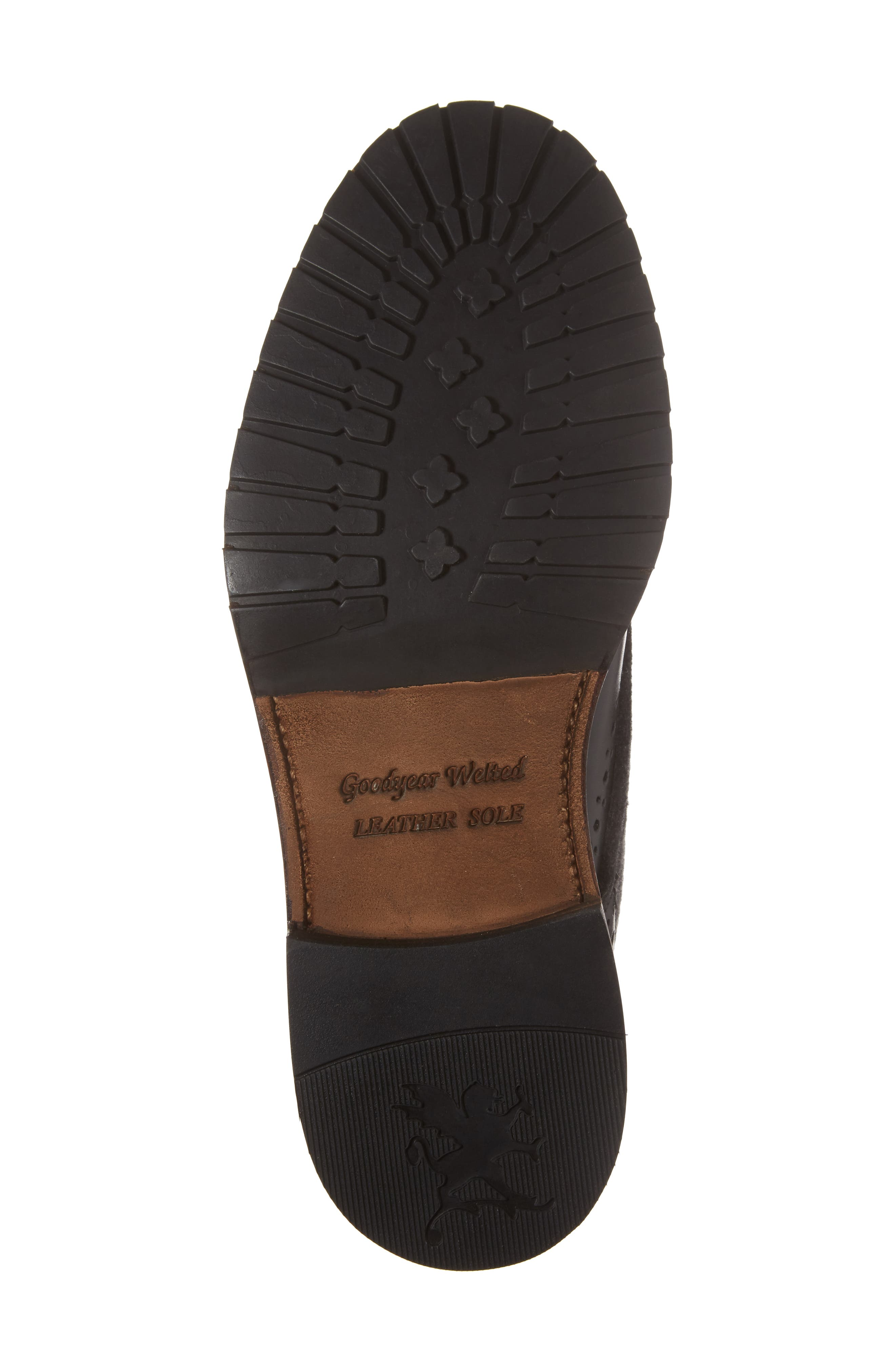 Madison II Felt Shaft Boot,                             Alternate thumbnail 6, color,                             Black
