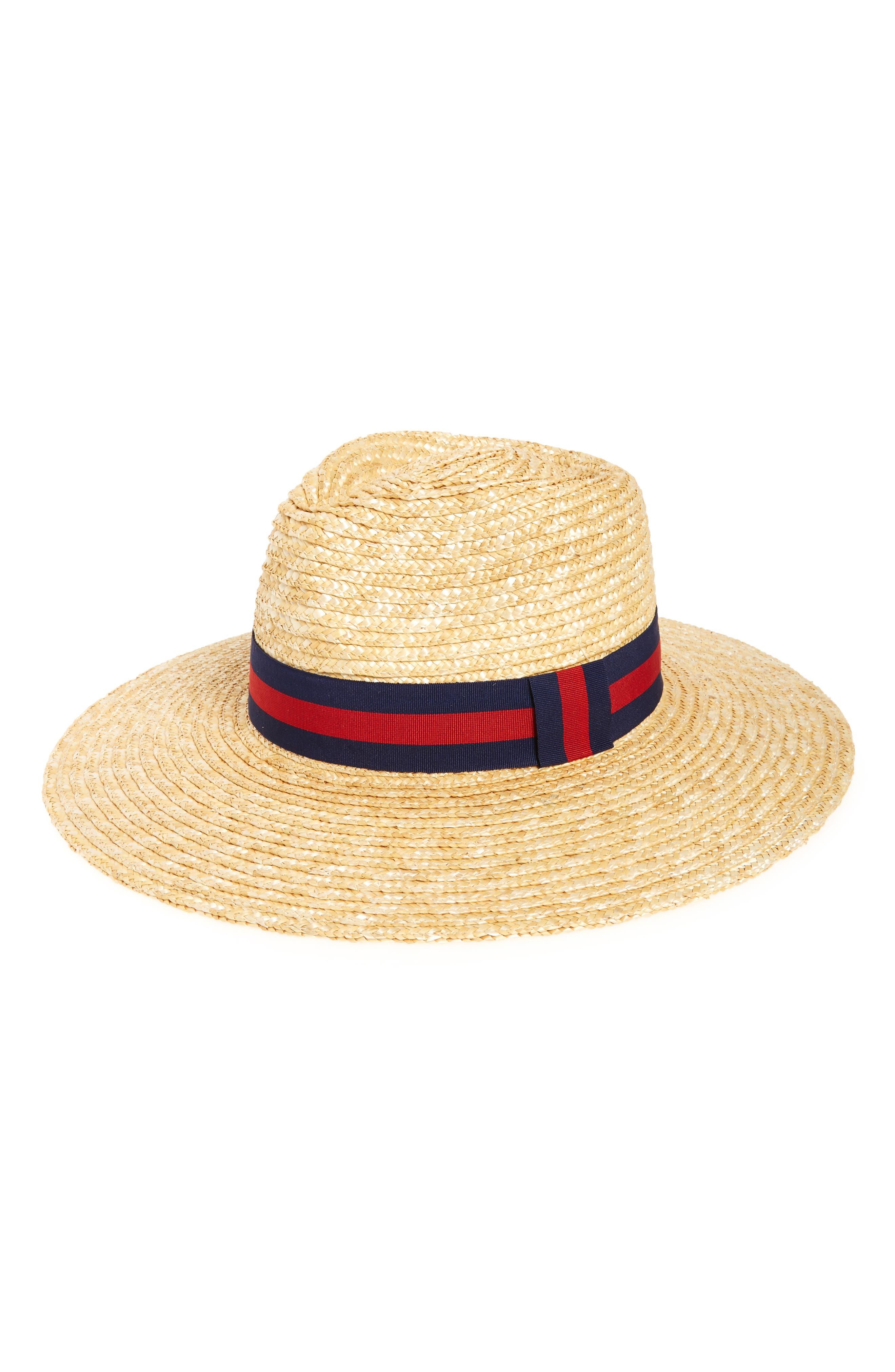 BP. Heritage Wide Brim Straw Hat