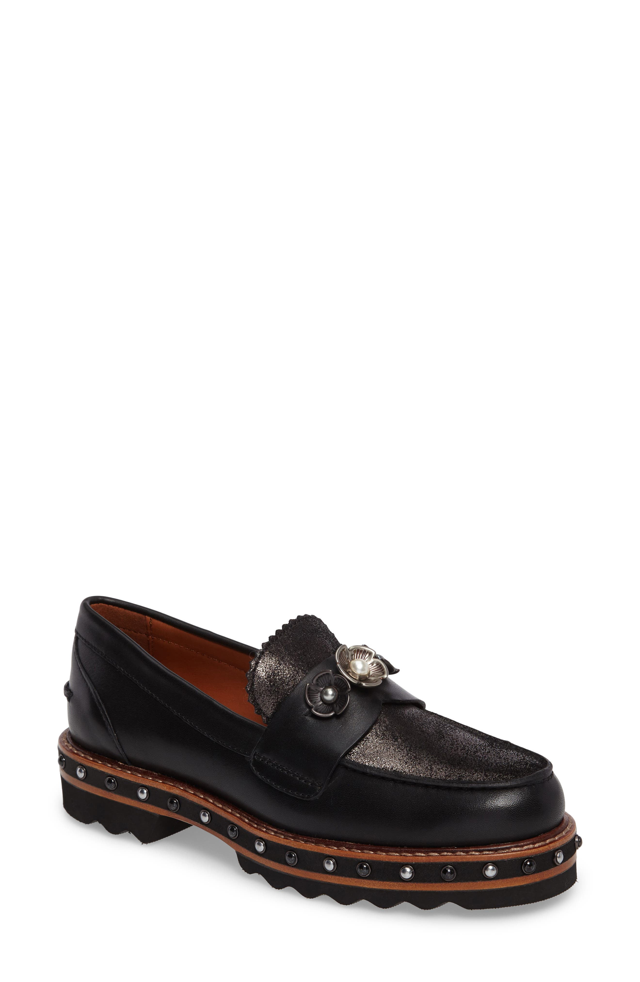 Alternate Image 1 Selected - Coach Lenox Loafer (Women)