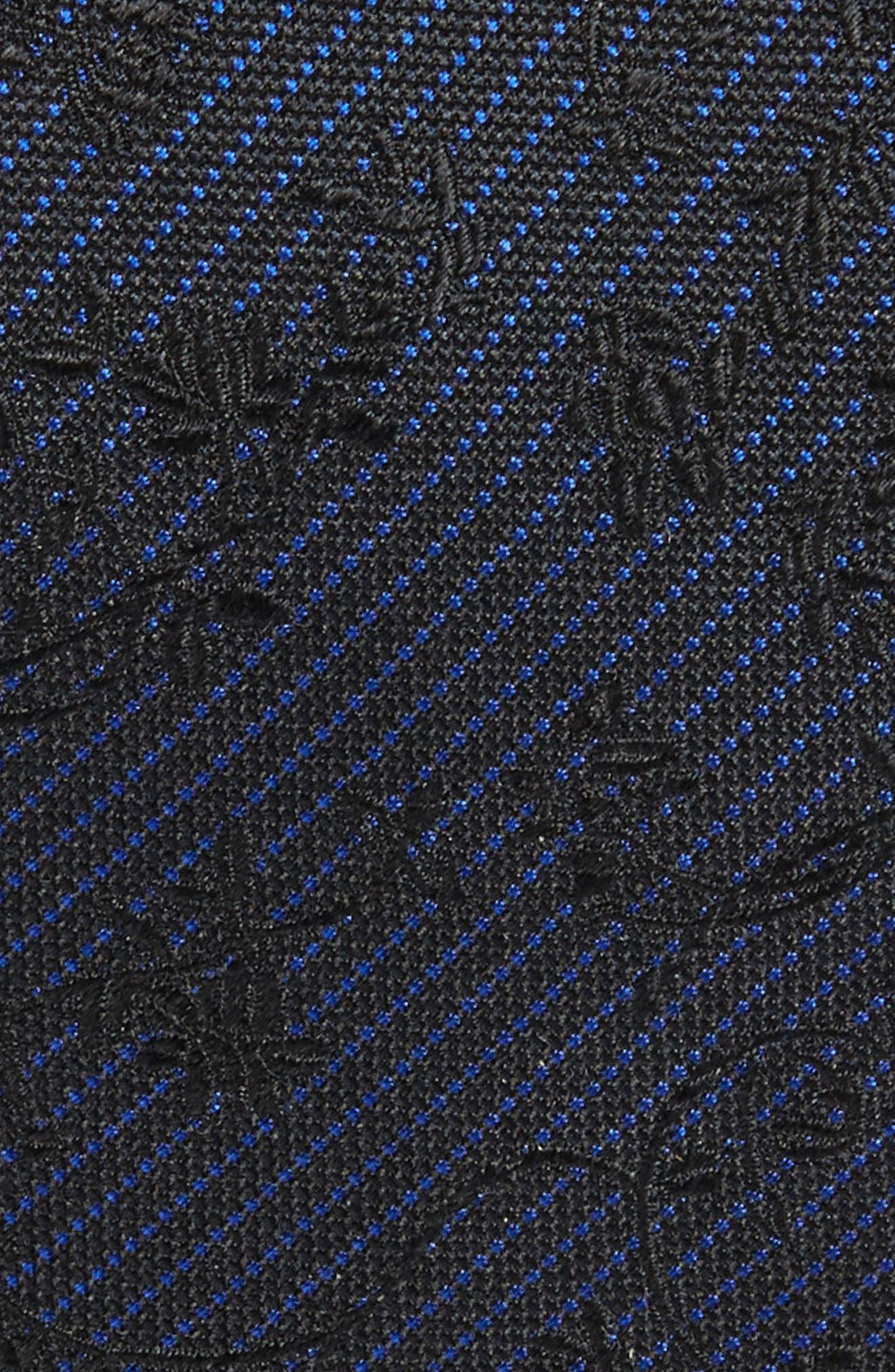 Alternate Image 2  - The Kooples Floral Silk Skinny Tie