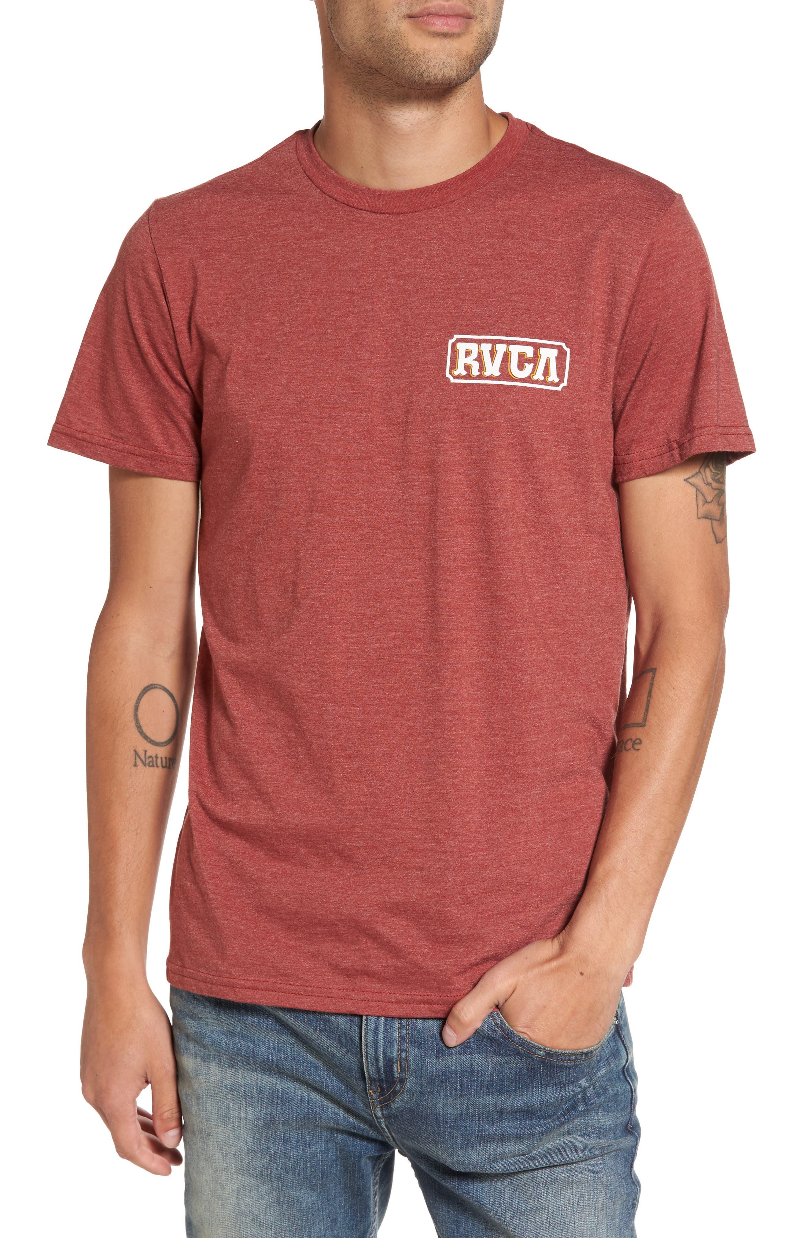 Suzuki Sign Graphic T-Shirt,                         Main,                         color, Rosewood