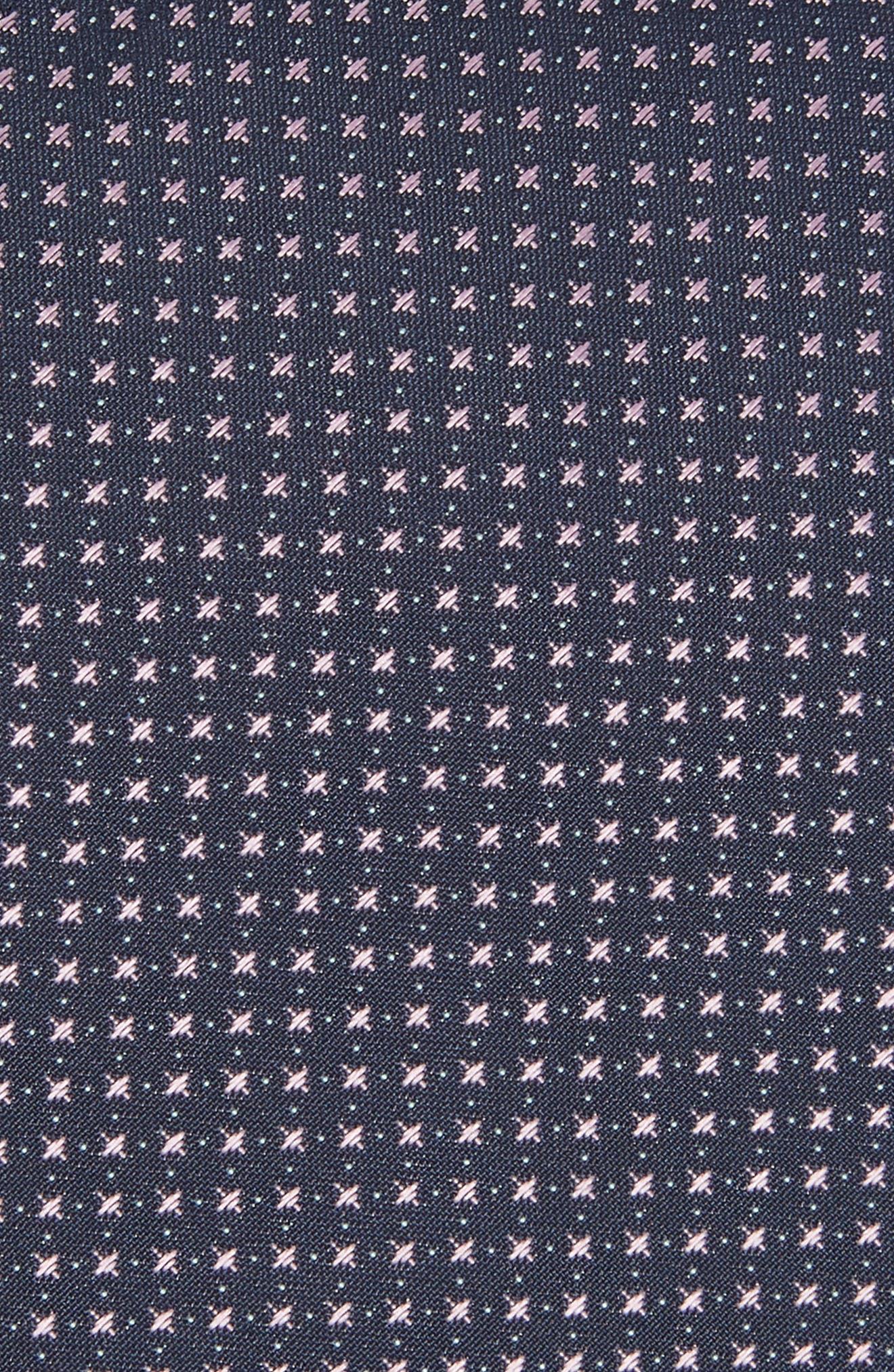 Alternate Image 2  - BOSS Geometric Silk Tie