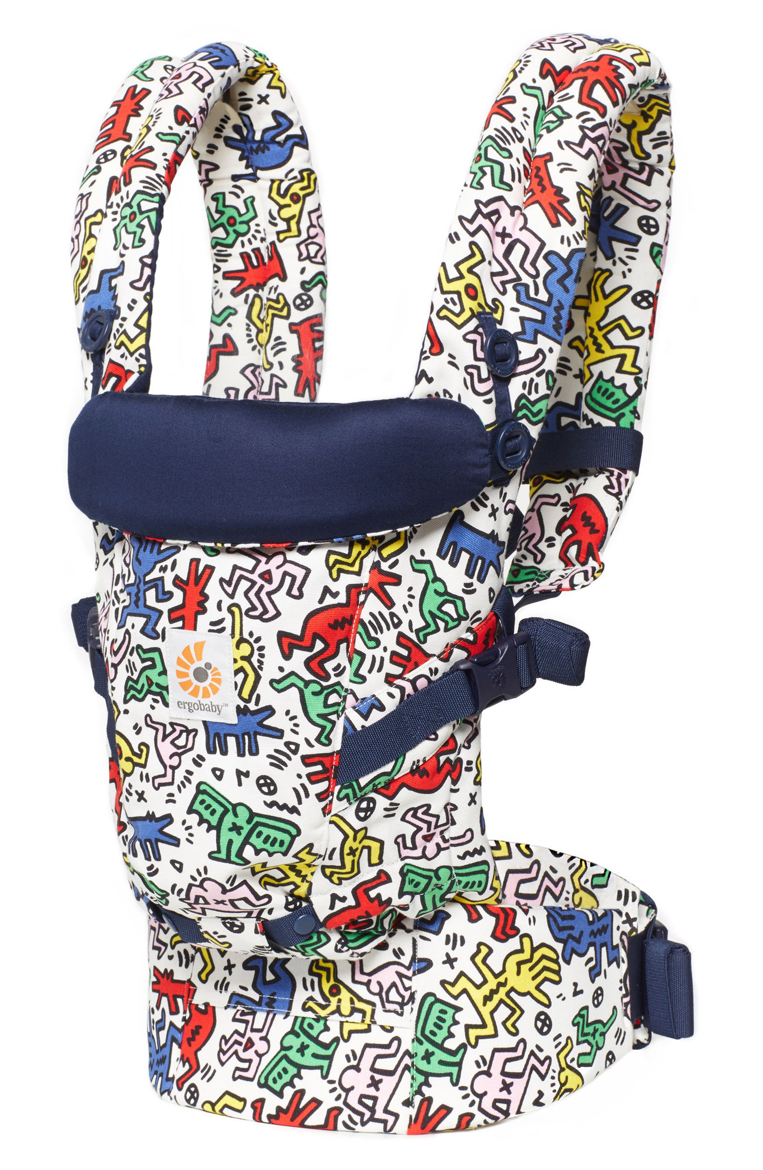 Alternate Image 2  - ERGObaby Special Edition Keith Haring Three Position ADAPT Baby Carrier