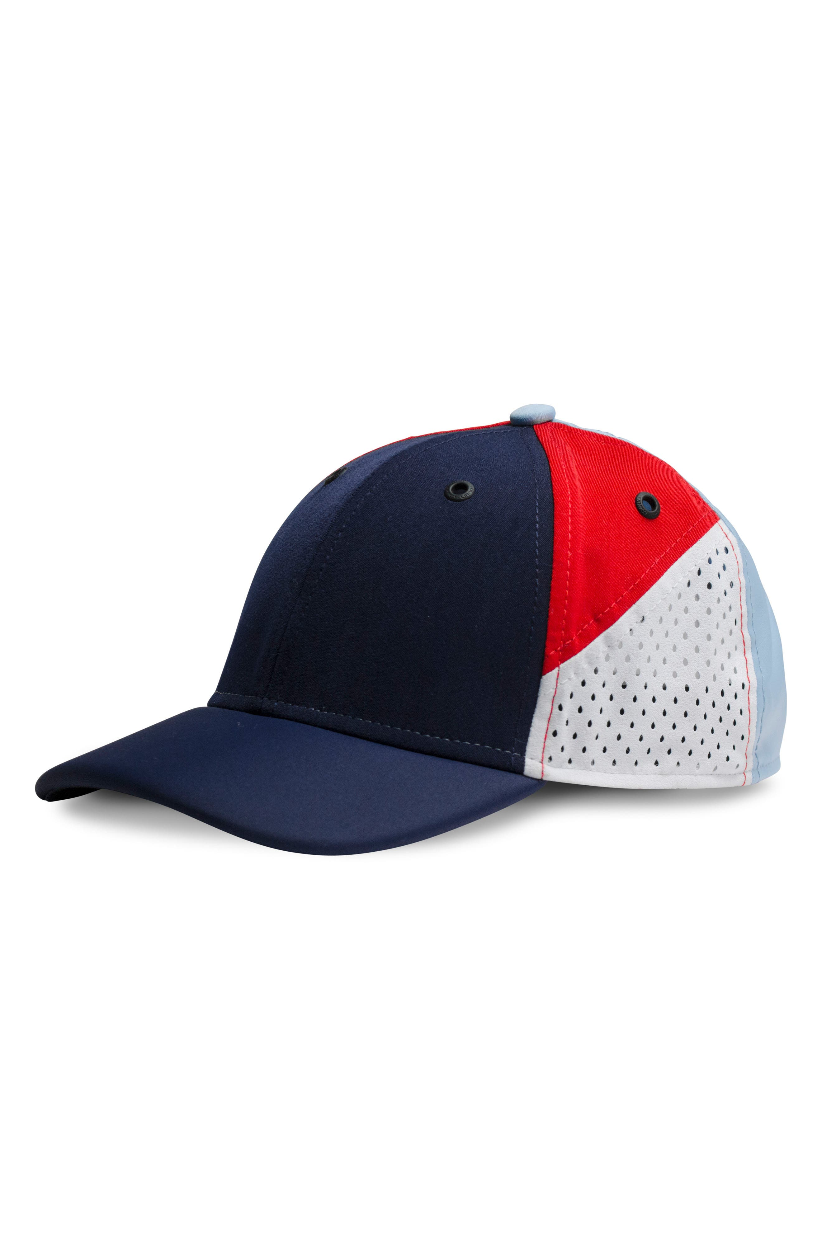 The Assault Snapback Baseball Cap,                         Main,                         color, Red/ White