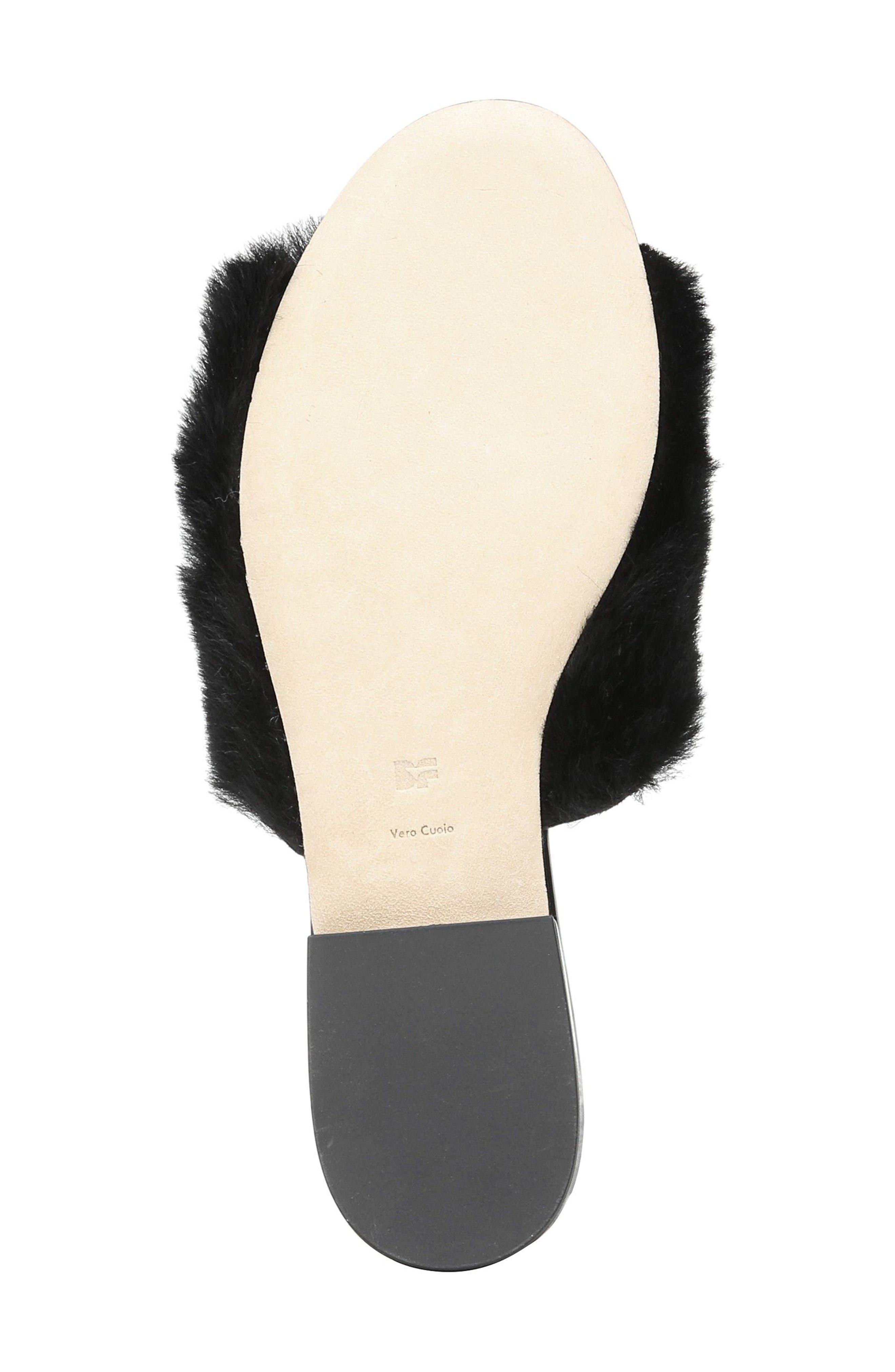 Alternate Image 6  - Diane von Furstenberg Santi Genuine Shearling Slide Sandal (Women)