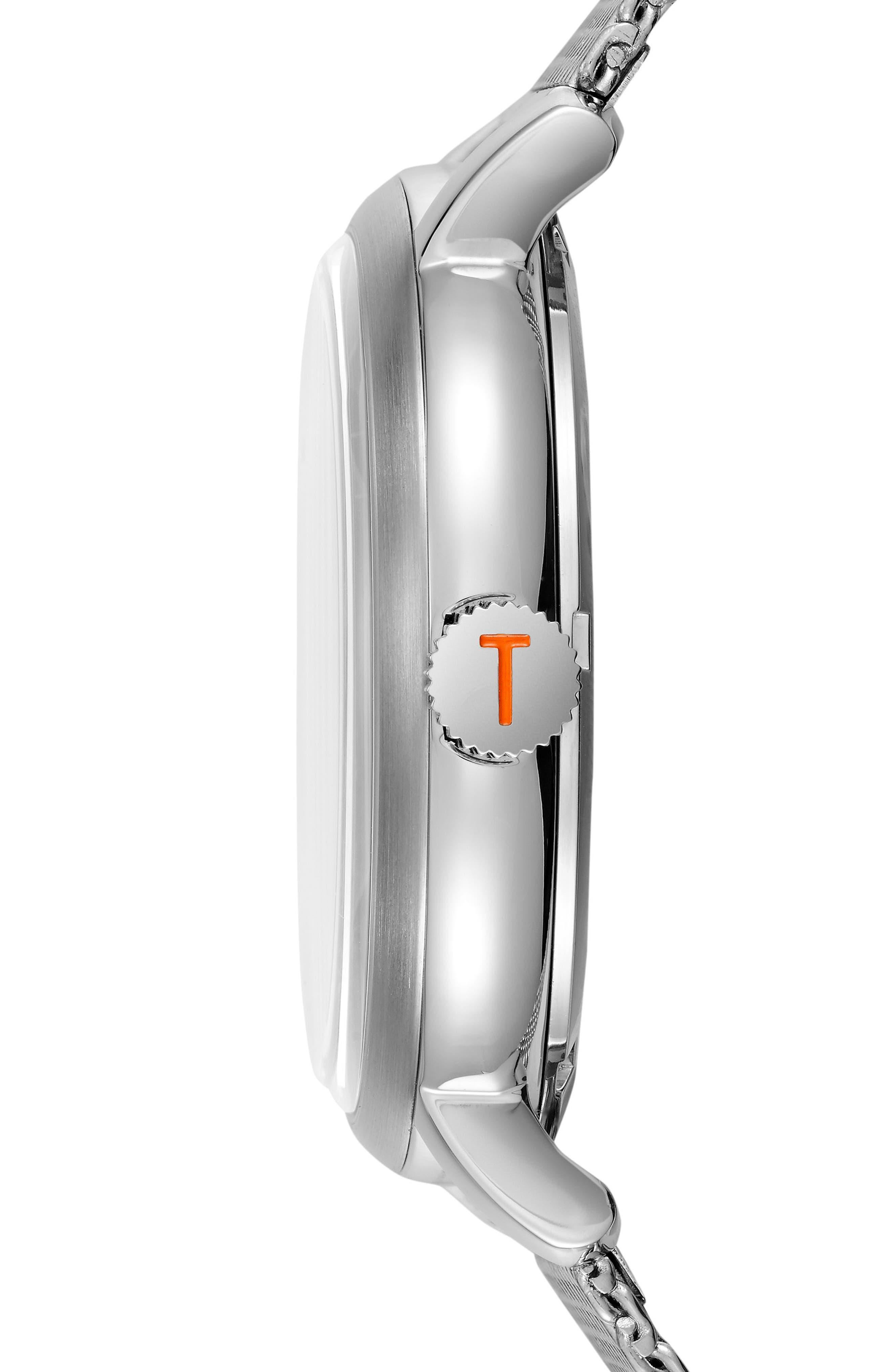 Alternate Image 3  - Ted Baker London Oliver Mesh Strap Watch, 44mm