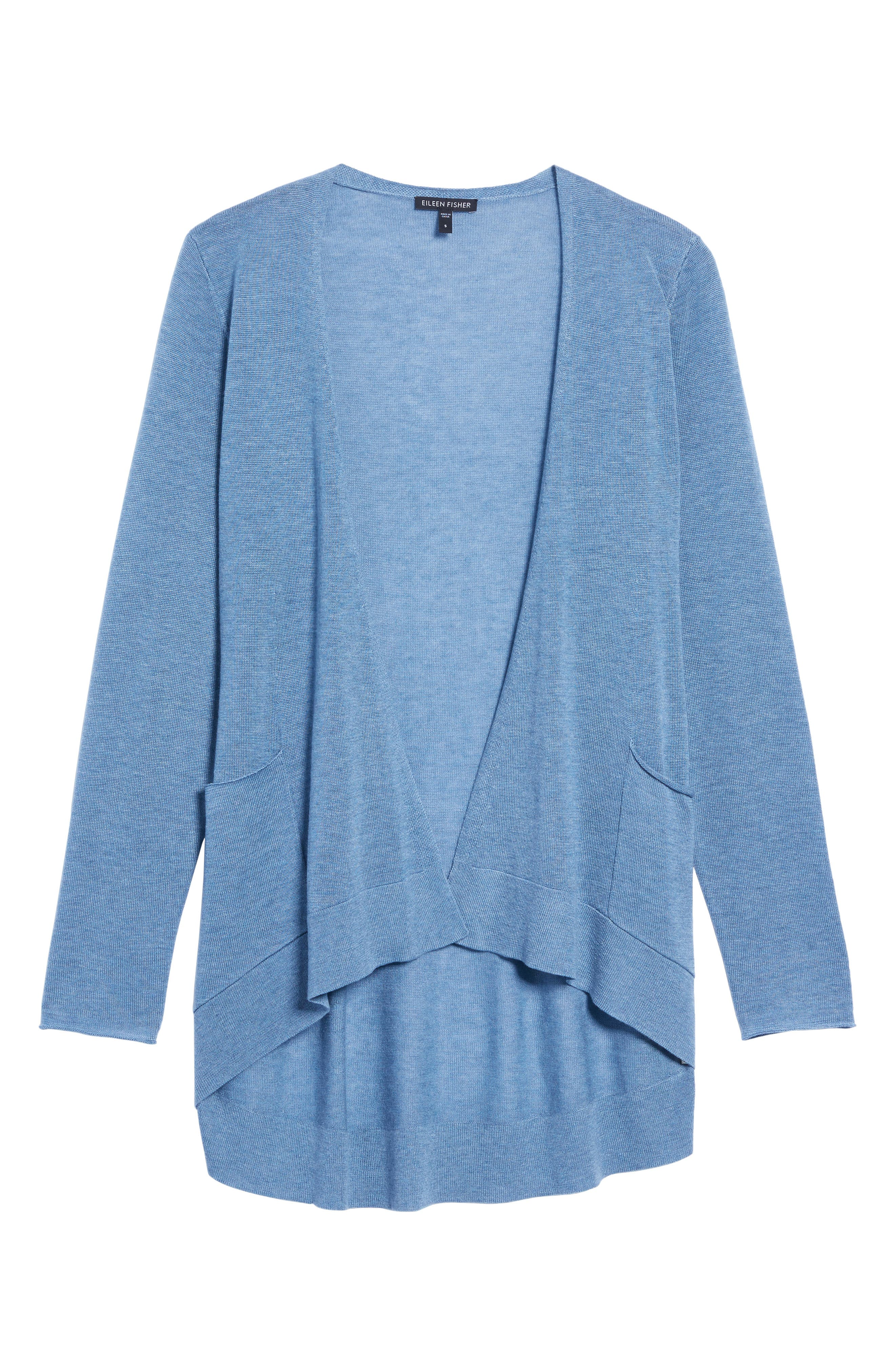 Alternate Image 6  - Eileen Fisher Slouchy Tencel® Blend Cardigan