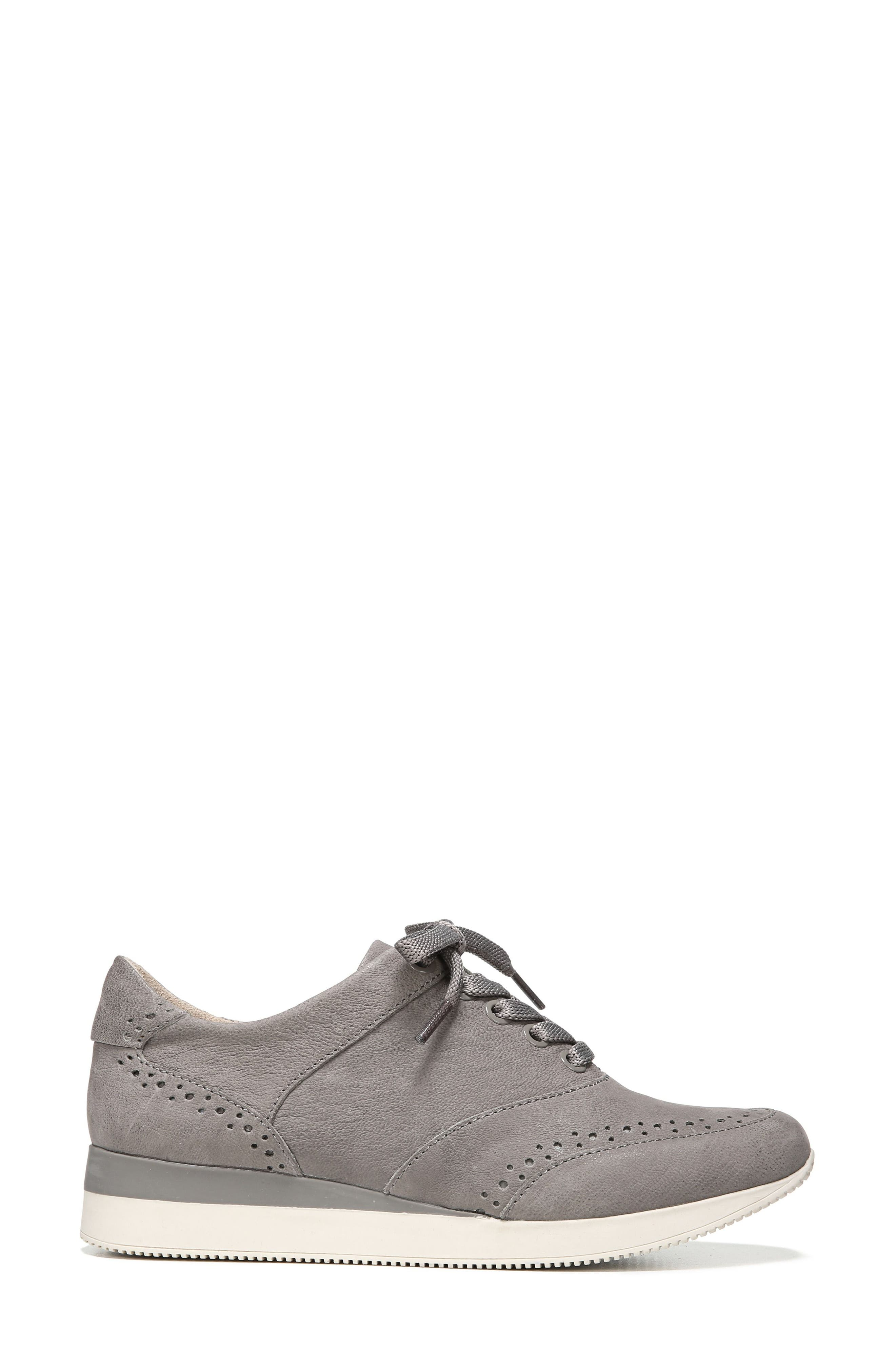 Jimi 2 Perforated Sneaker,                             Alternate thumbnail 3, color,                             Modern Grey Nubuck Leather