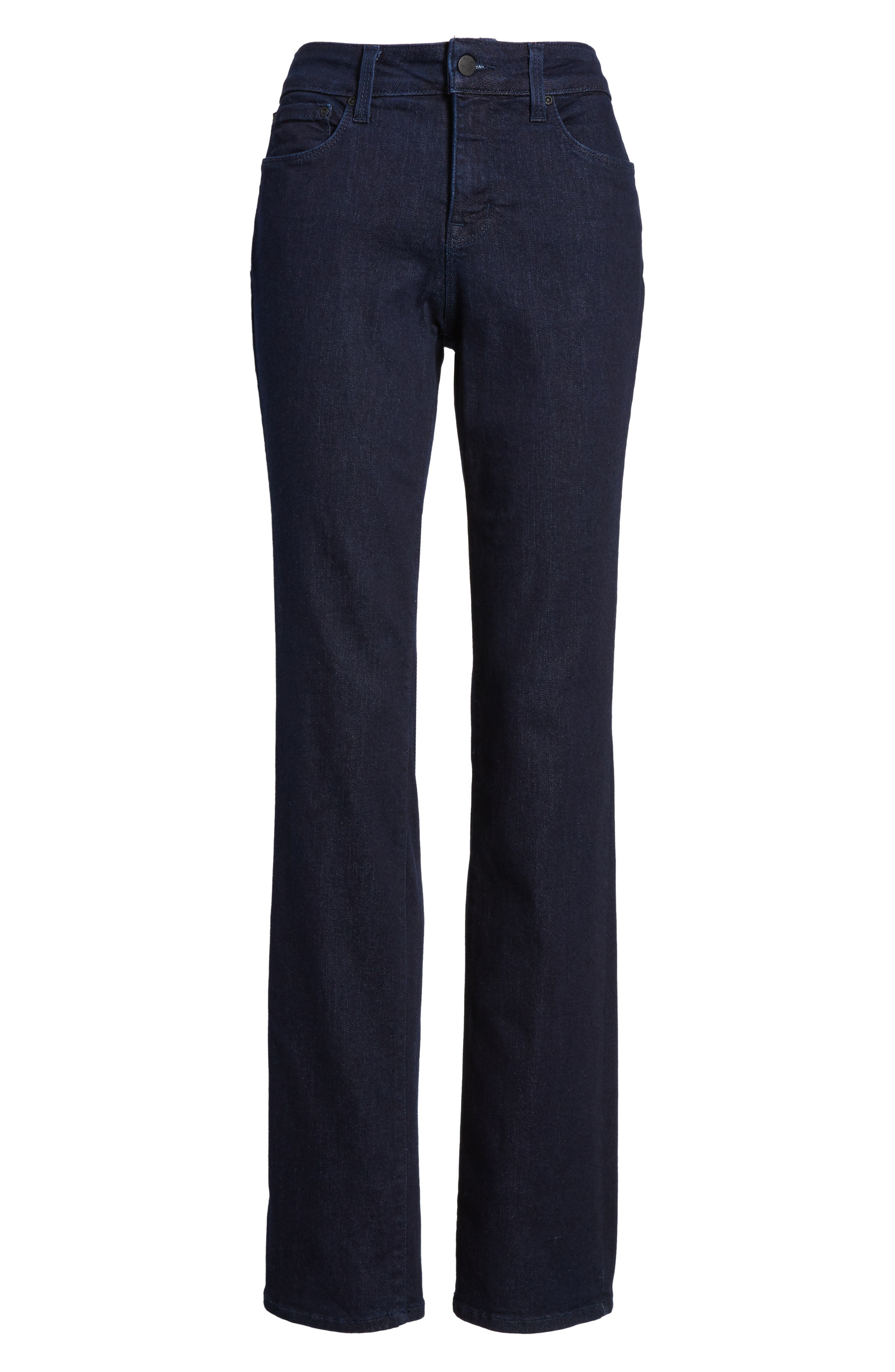 Marilyn Stretch Straight Leg Jeans,                             Alternate thumbnail 6, color,                             Rinse