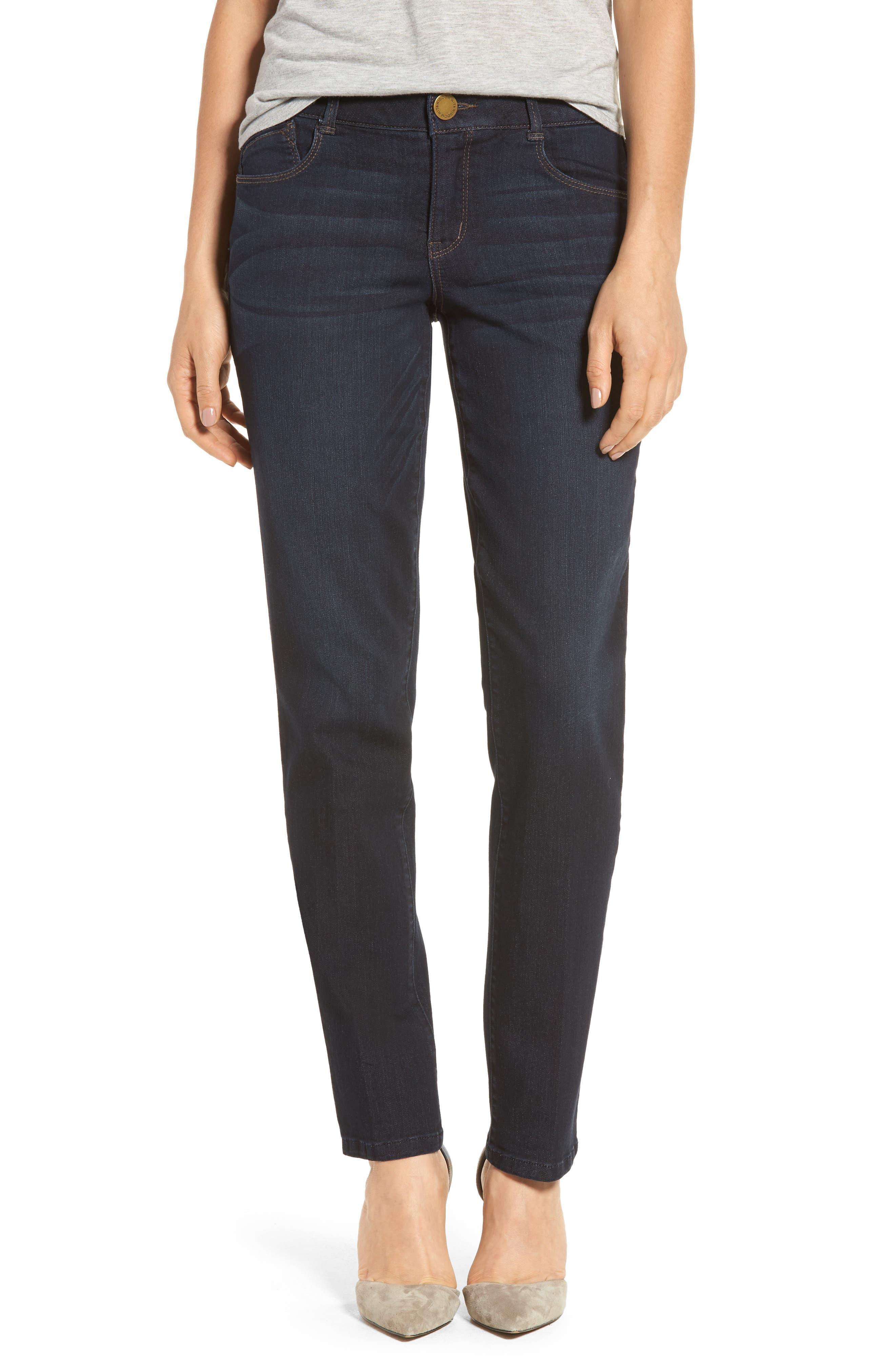 Ab-solution Straight Leg Jeans,                         Main,                         color, Indigo