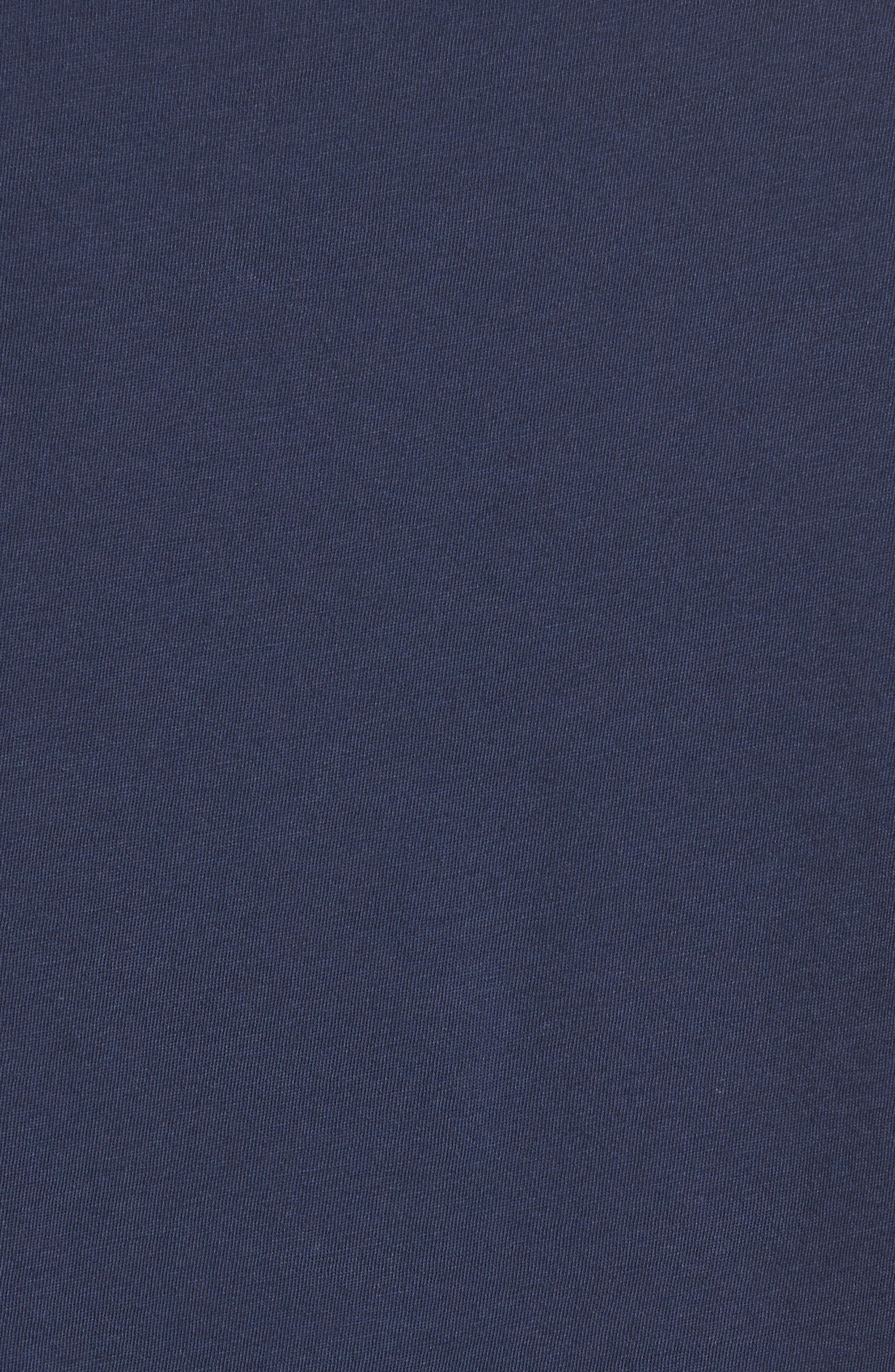 Regular Fit V-Neck T-Shirt,                             Alternate thumbnail 6, color,                             Starry Night