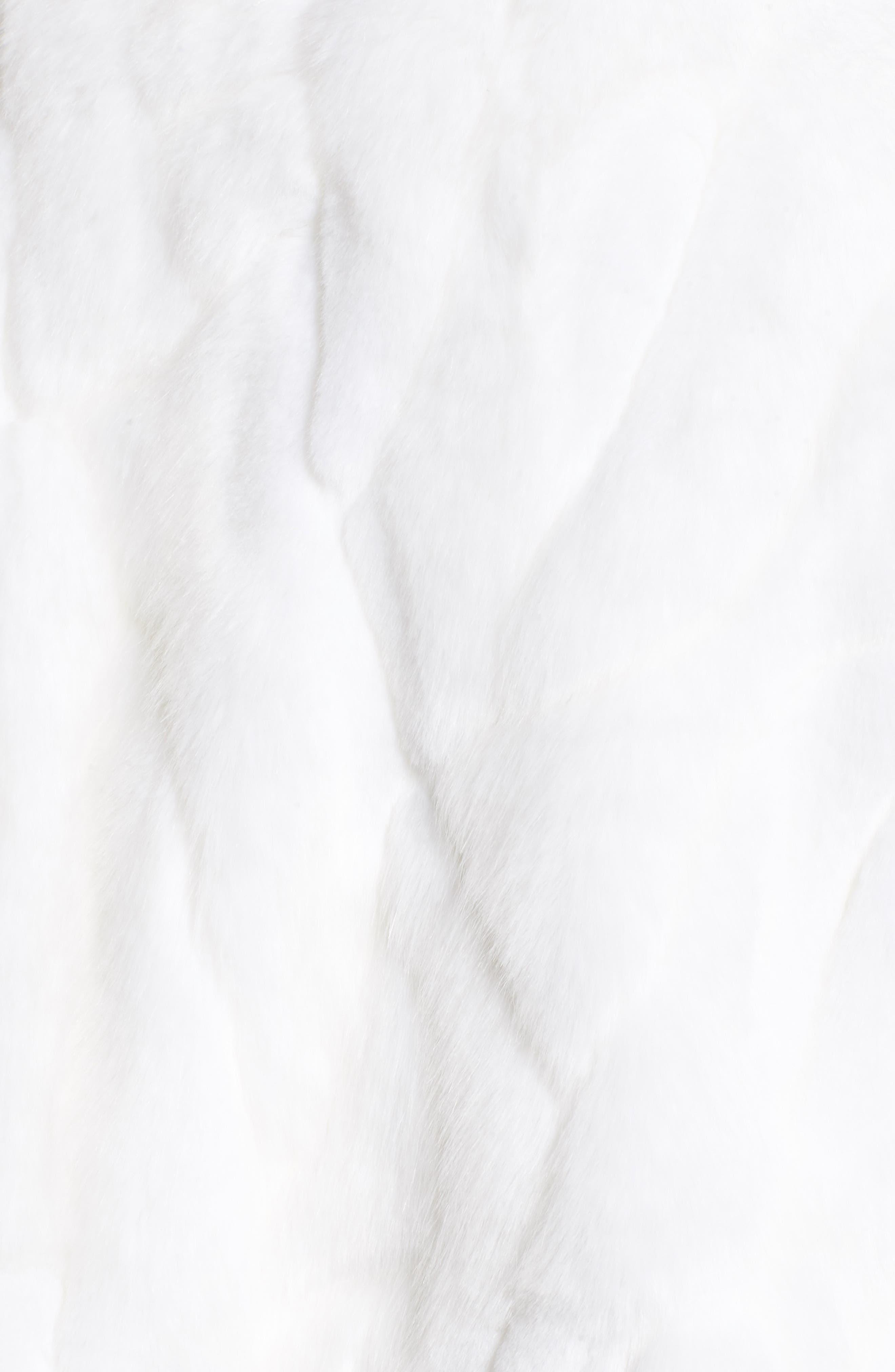 Alternate Image 5  - Nordstrom Faux Fur Capelet