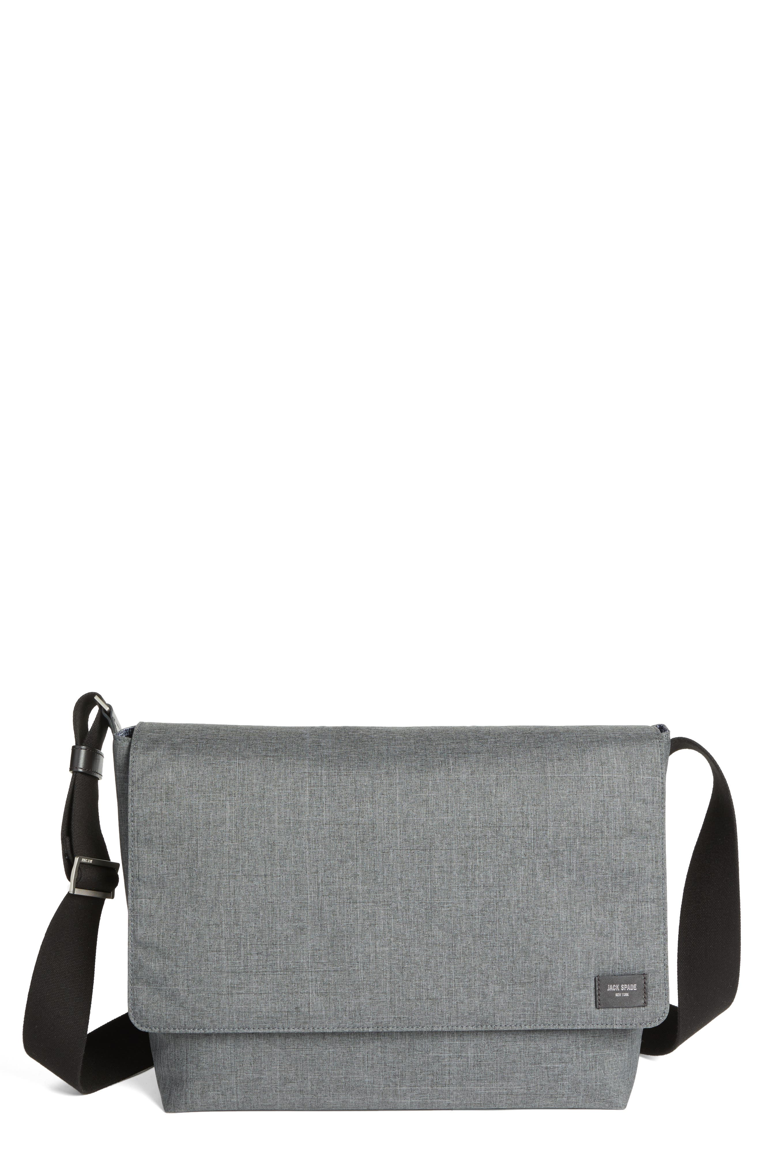 Jack Spade Tech Oxford Messenger Bag