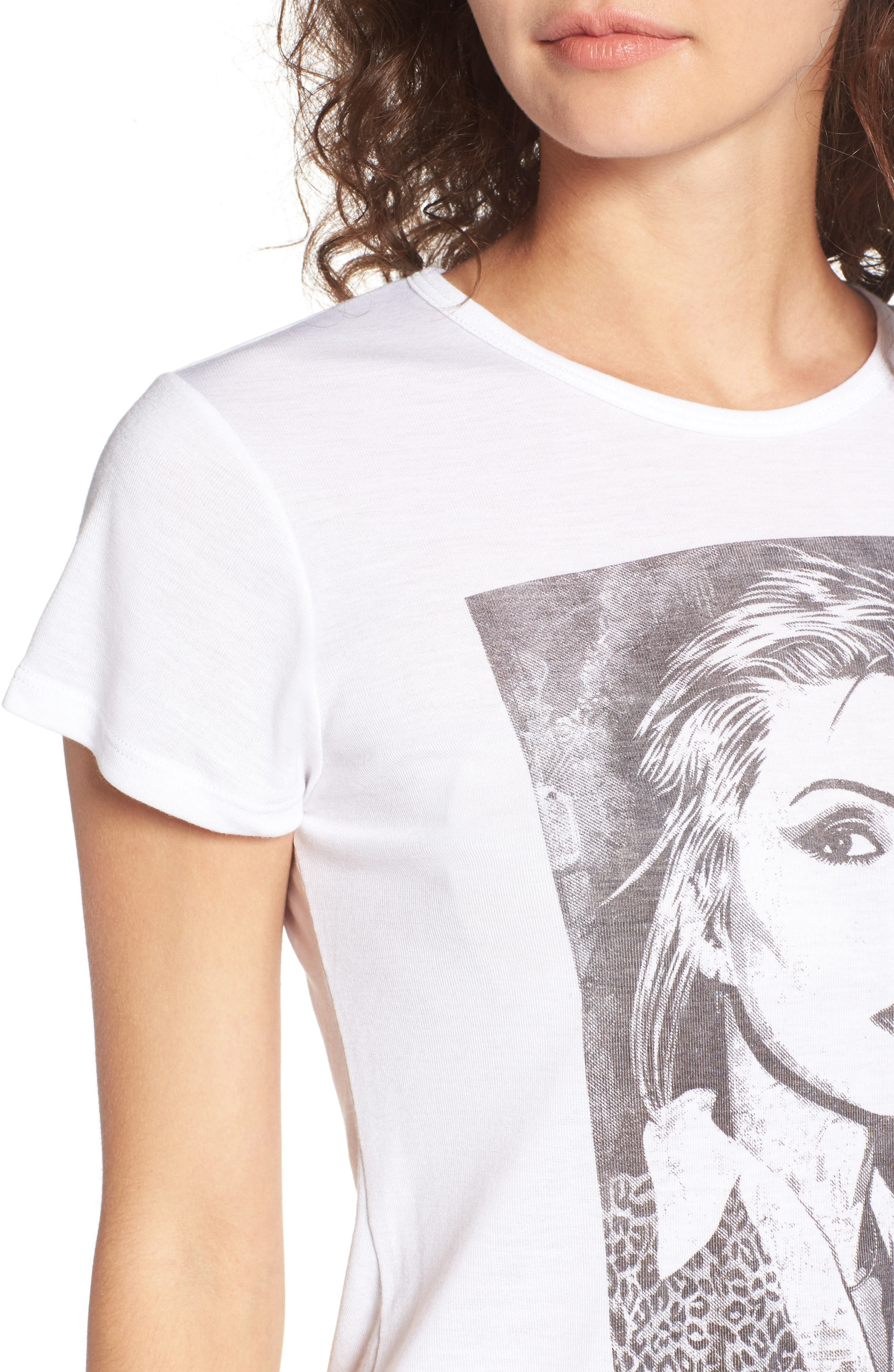 Alternate Image 4  - Obey x Debbie Harry Debbie Fine Art Babydoll Tee