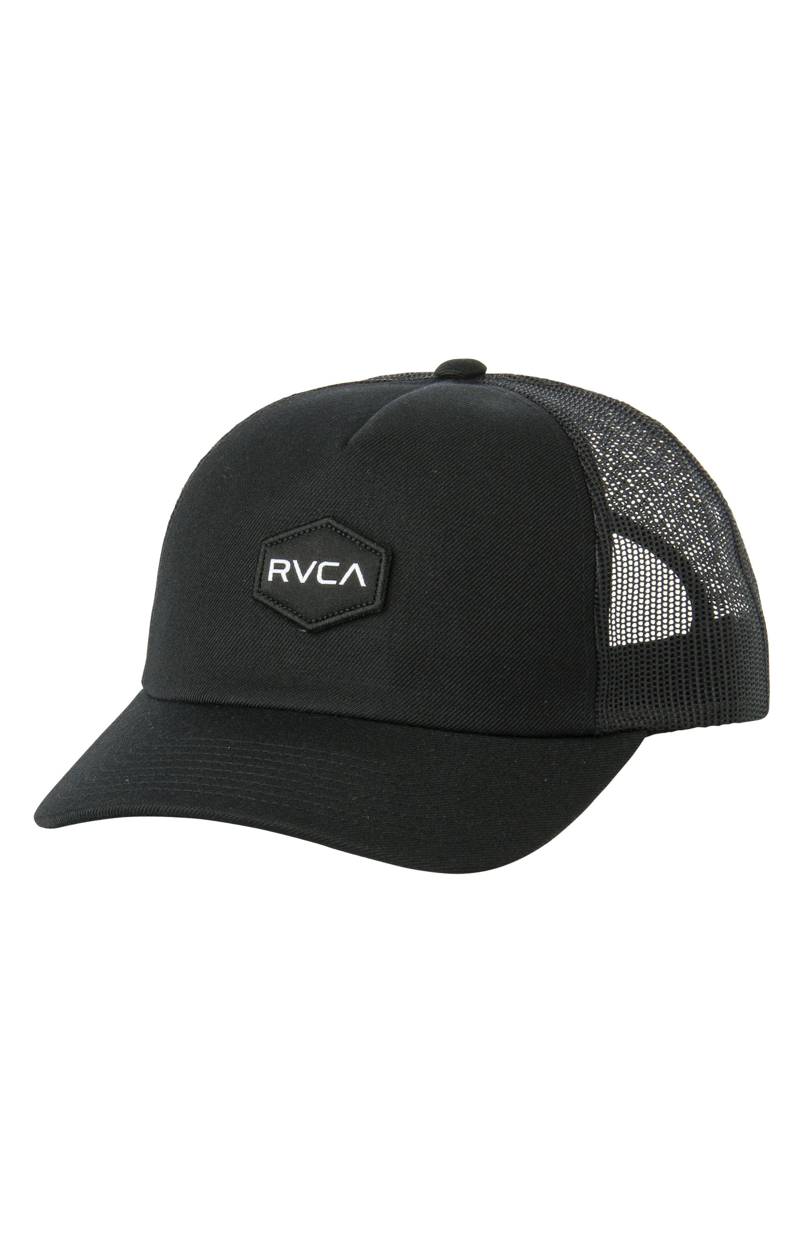 Commonwealth Trucker Hat,                         Main,                         color, Black