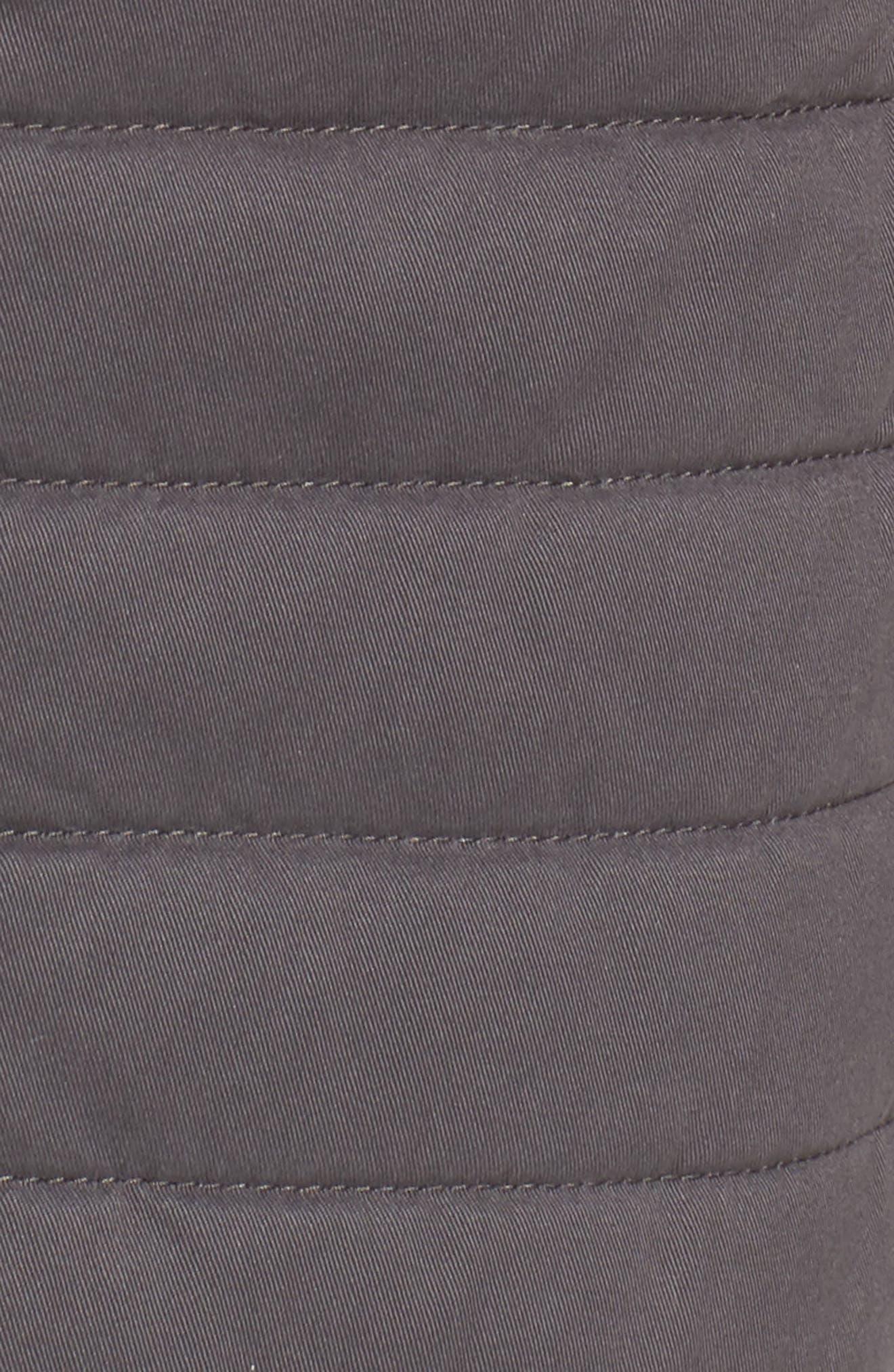 Alternate Image 5  - Nordstrom Men's Shop Quilted Twill Vest (Regular & Tall)