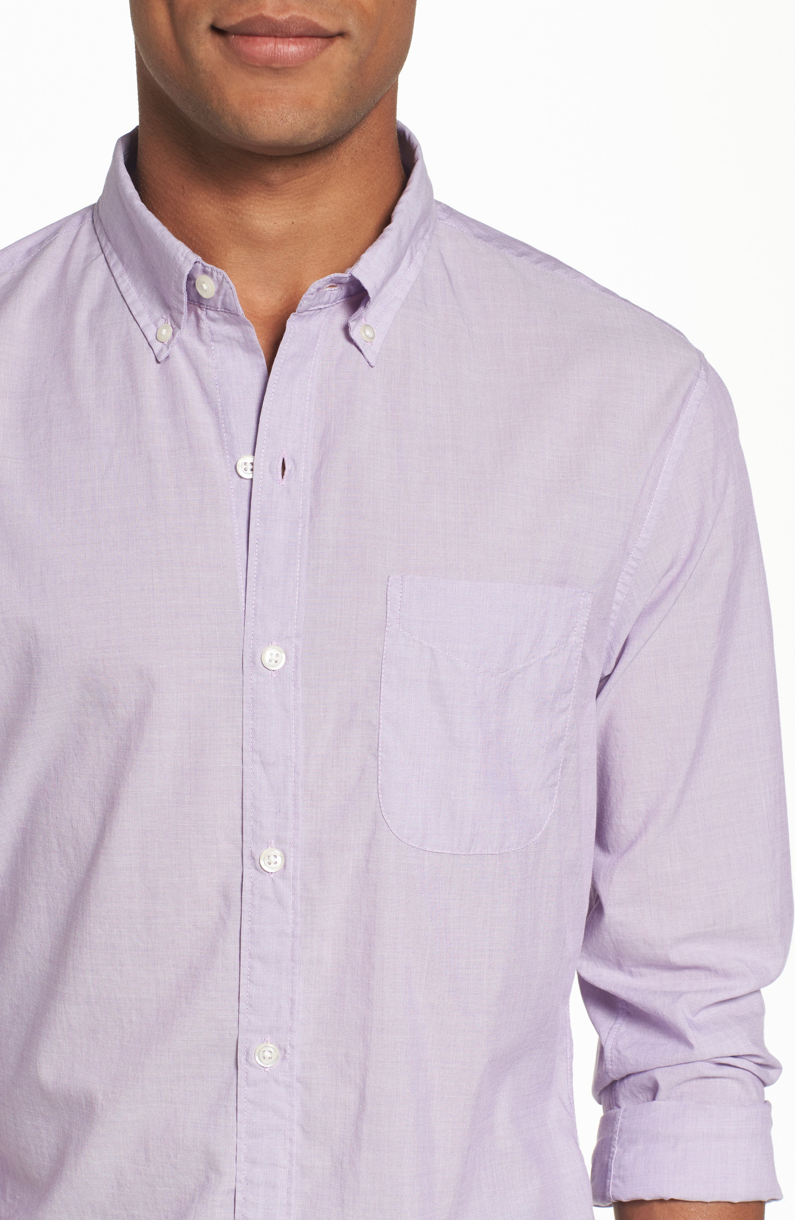Alternate Image 4  - Bonobos Slim Fit Summerweight Sport Shirt