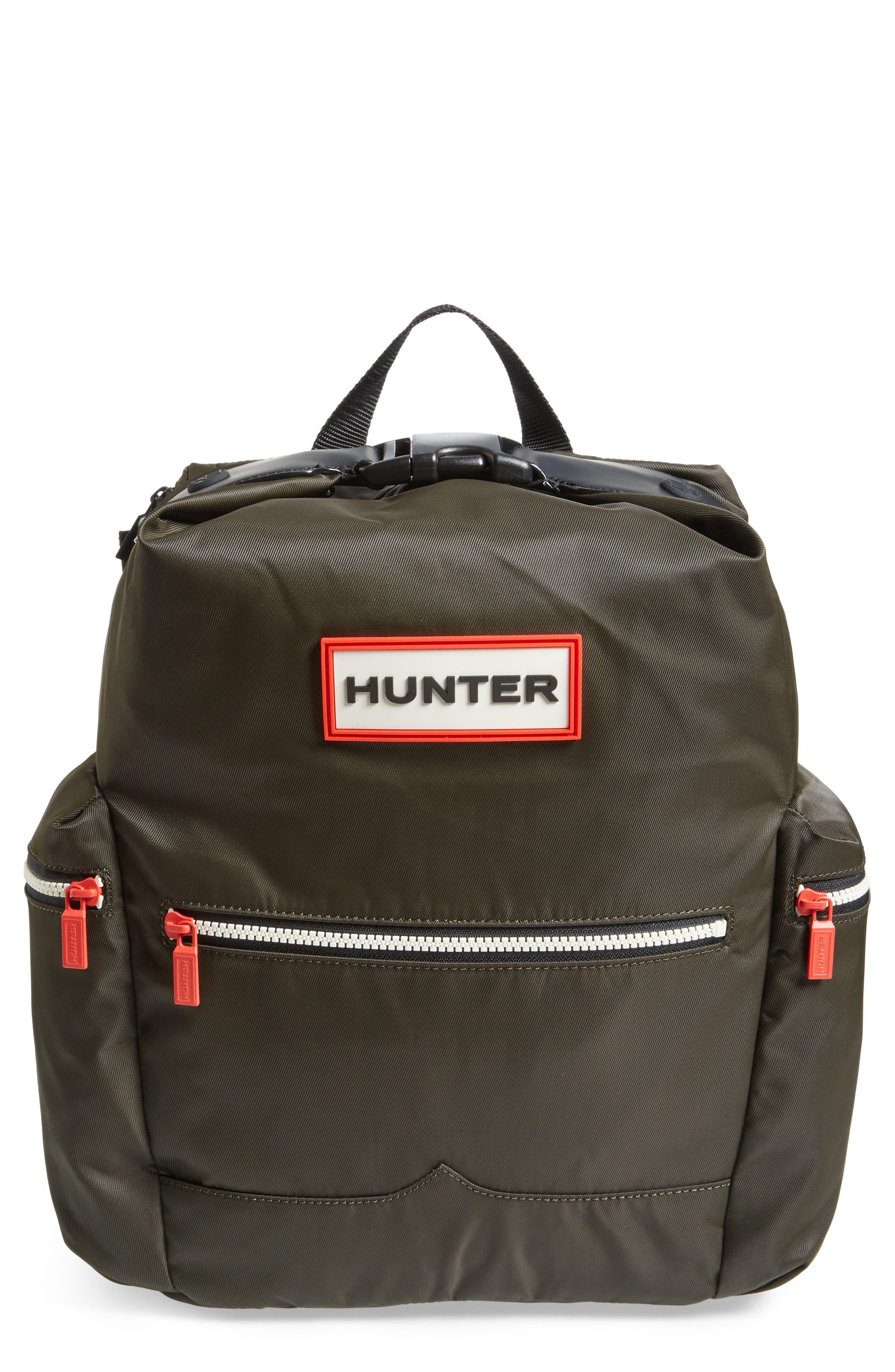 Alternate Image 1 Selected - Hunter Original Top Clip Nylon Backpack
