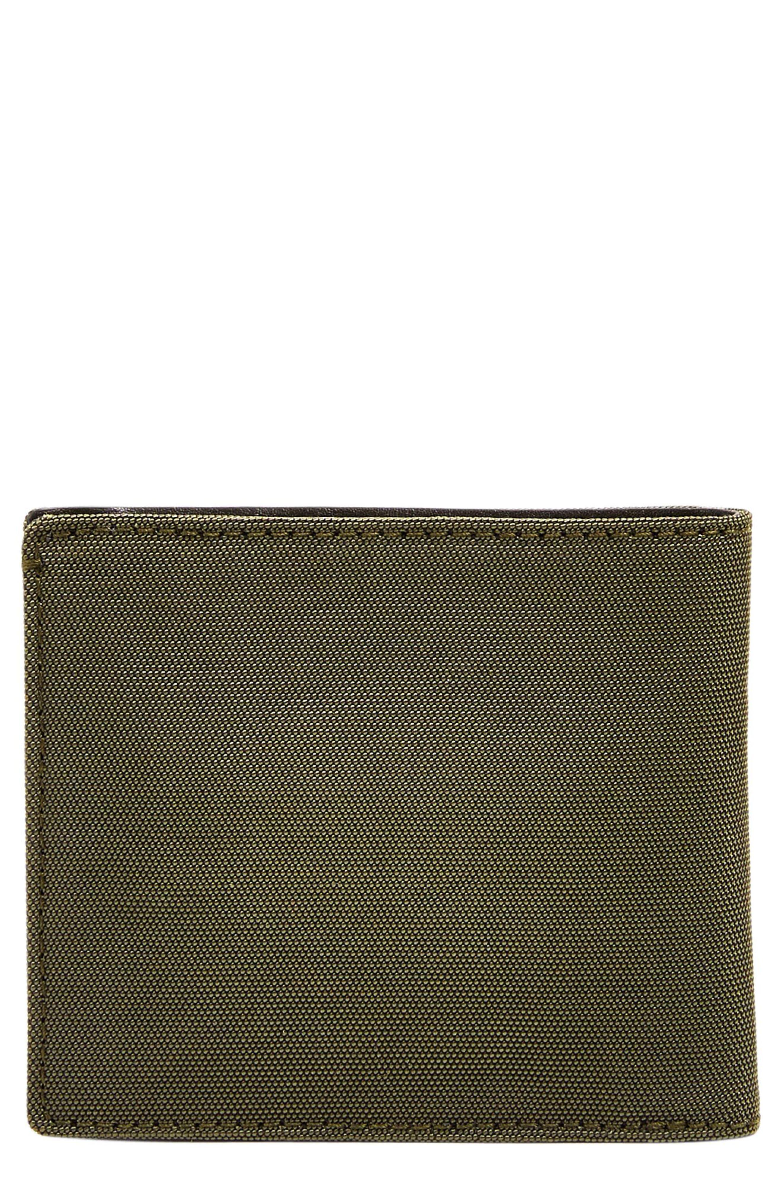 Passcase Wallet,                             Main thumbnail 1, color,                             Dark Green