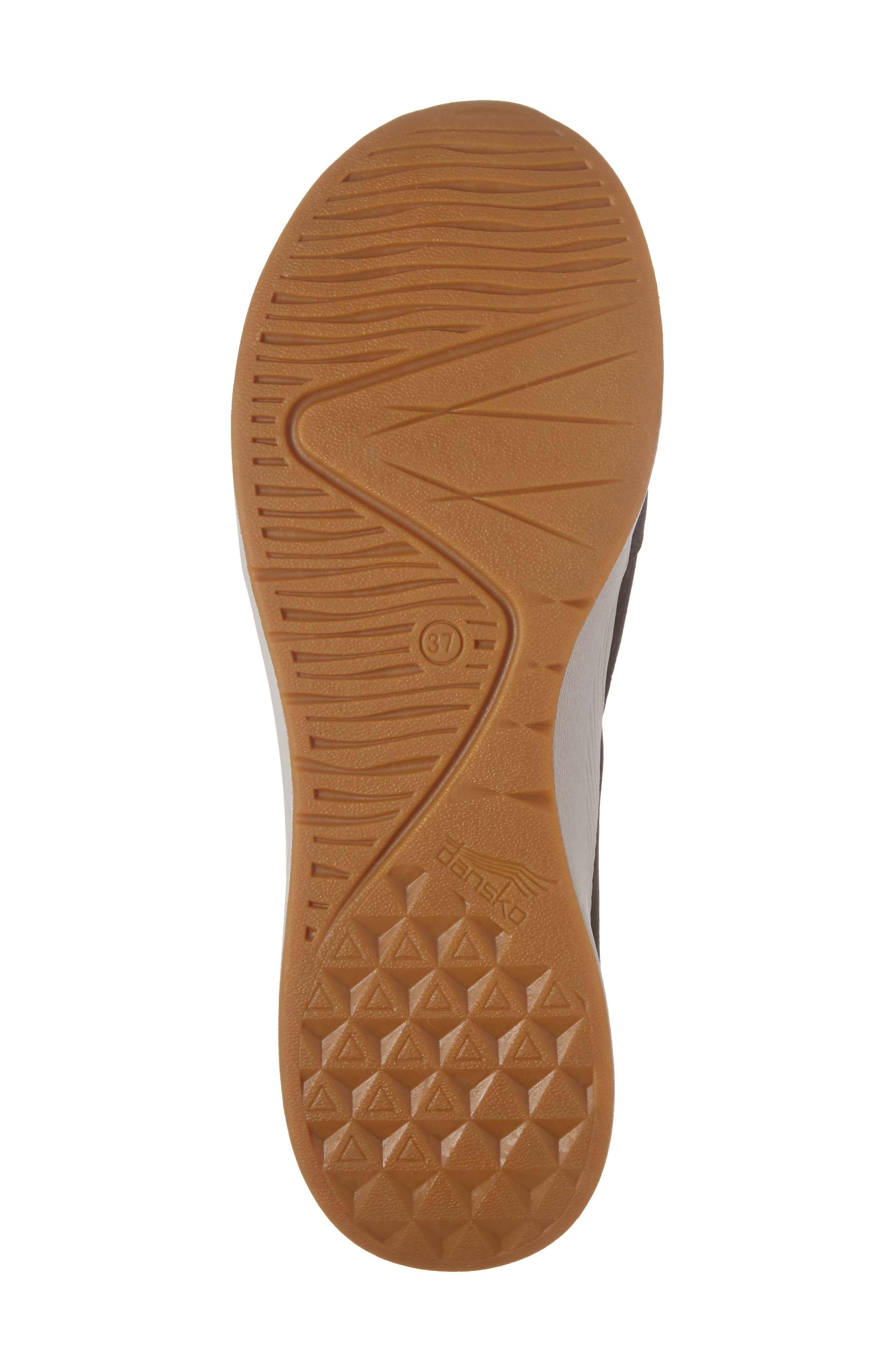 Christina Sneaker,                             Alternate thumbnail 6, color,                             Black Nubuck Leather