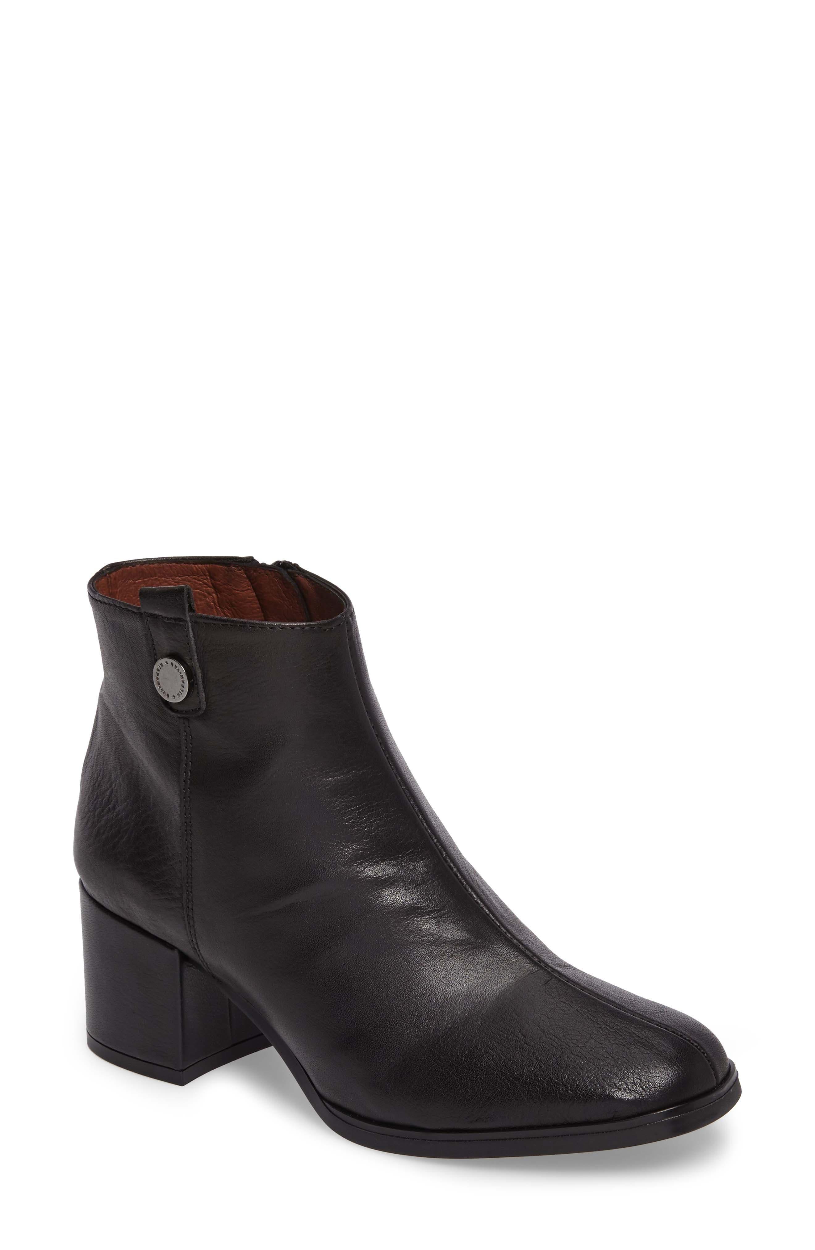 Christa Bootie,                         Main,                         color, Soho Black Leather