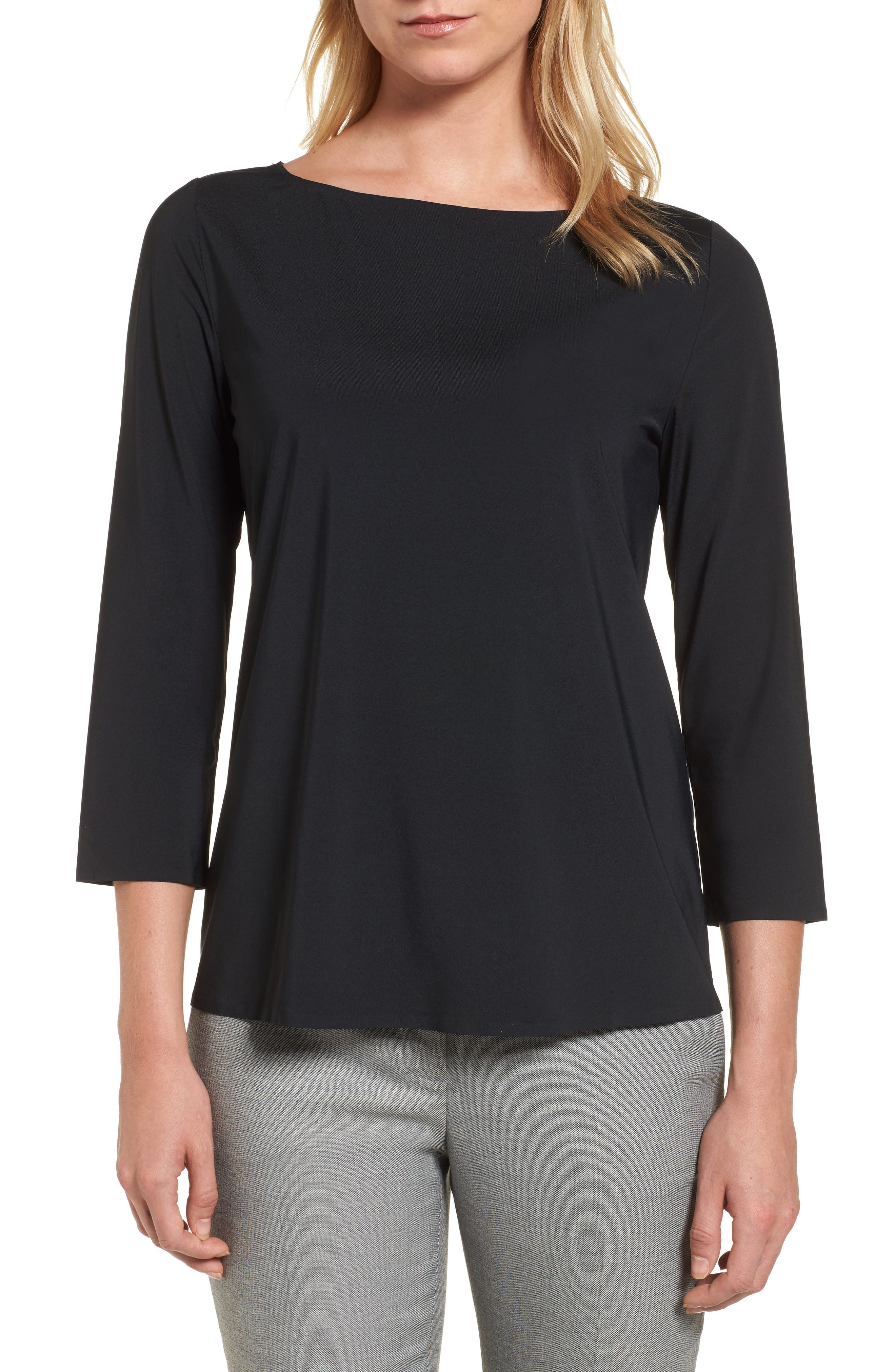 Alternate Image 1 Selected - Emerson Rose Three Quarter Sleeve Top