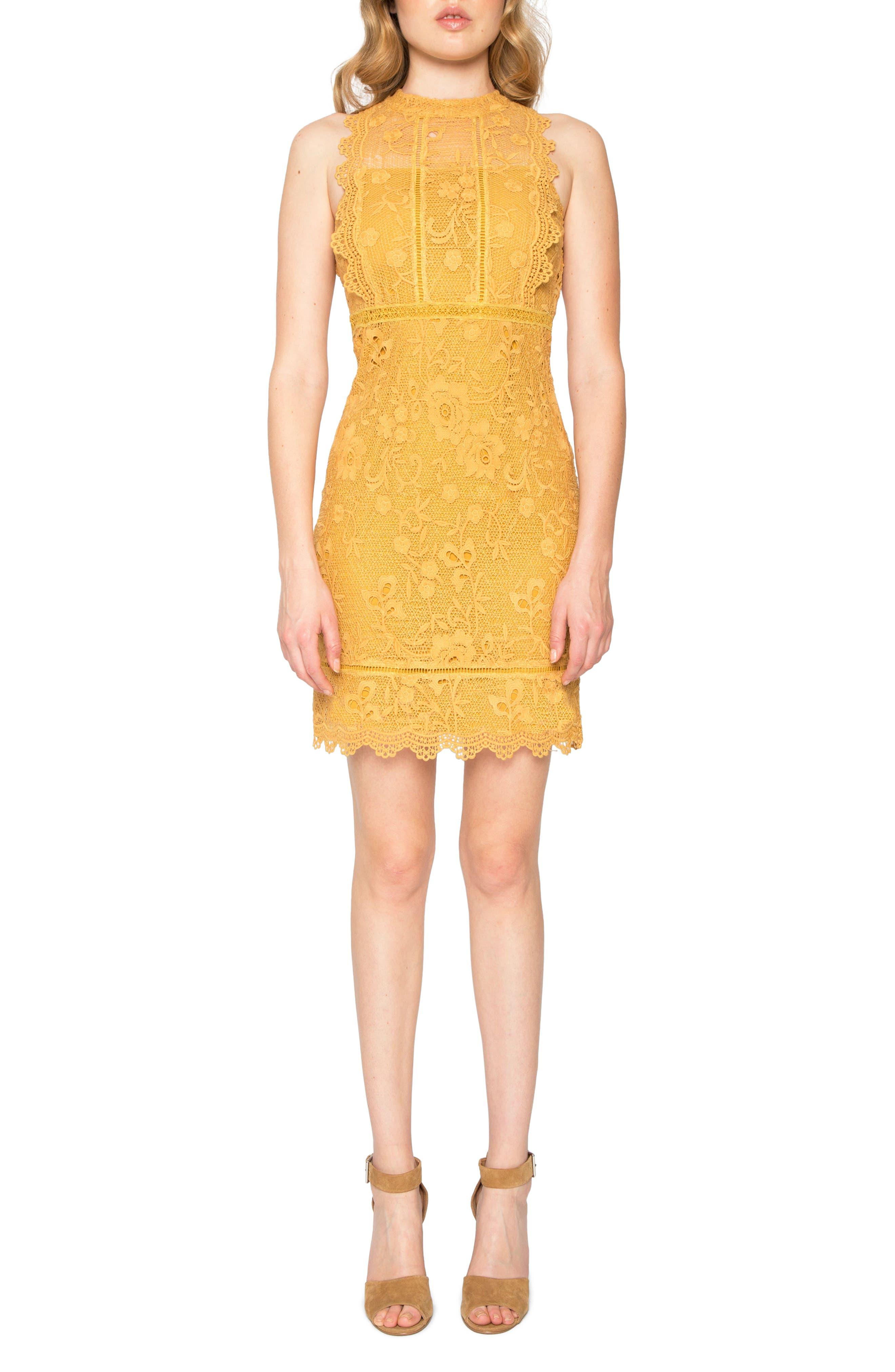 Main Image - Willow & Clay Lace Sheath Dress