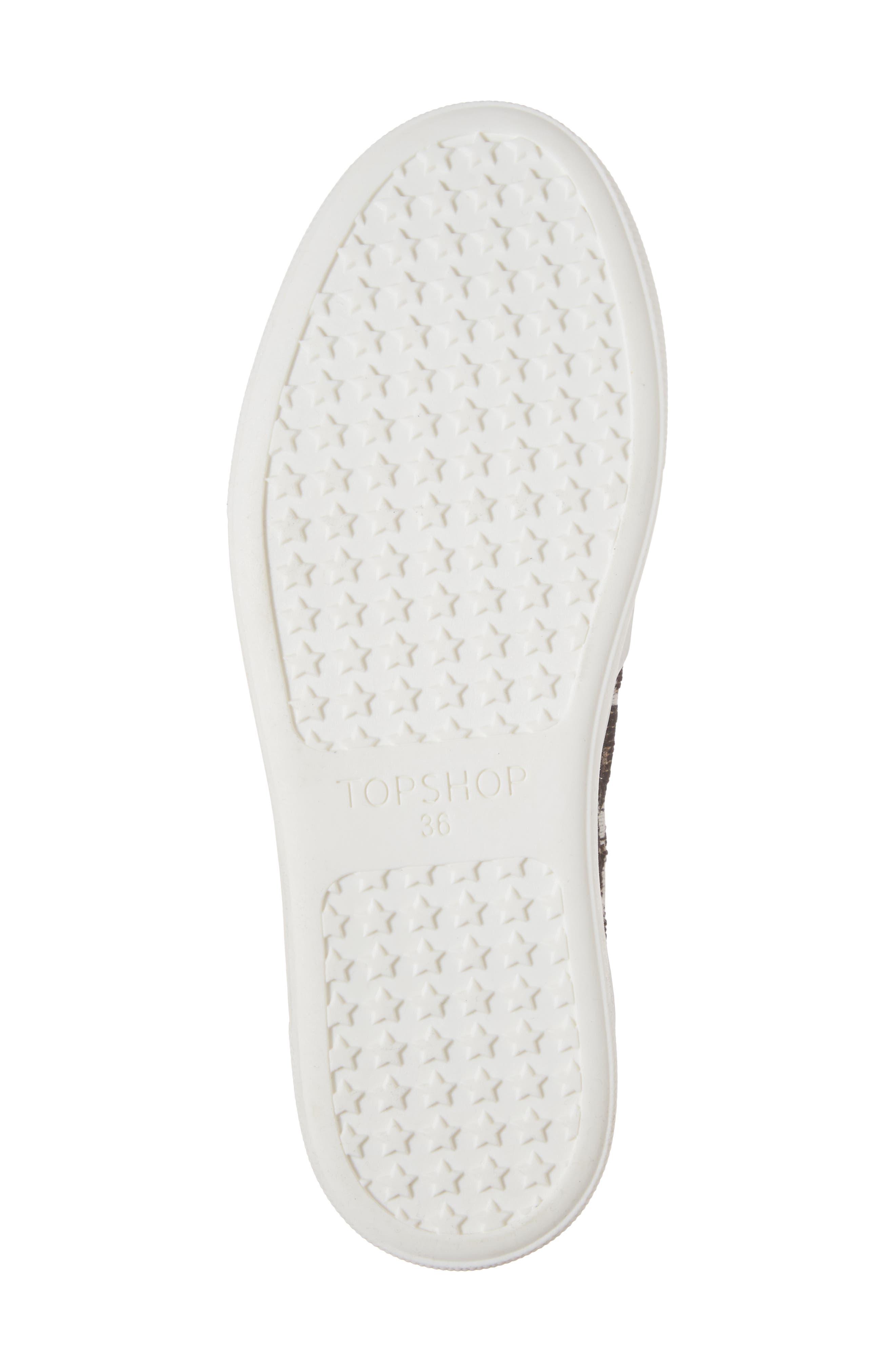 Alternate Image 6  - Topshop Tucker Leopard Print Slip-On Sneaker (Women)