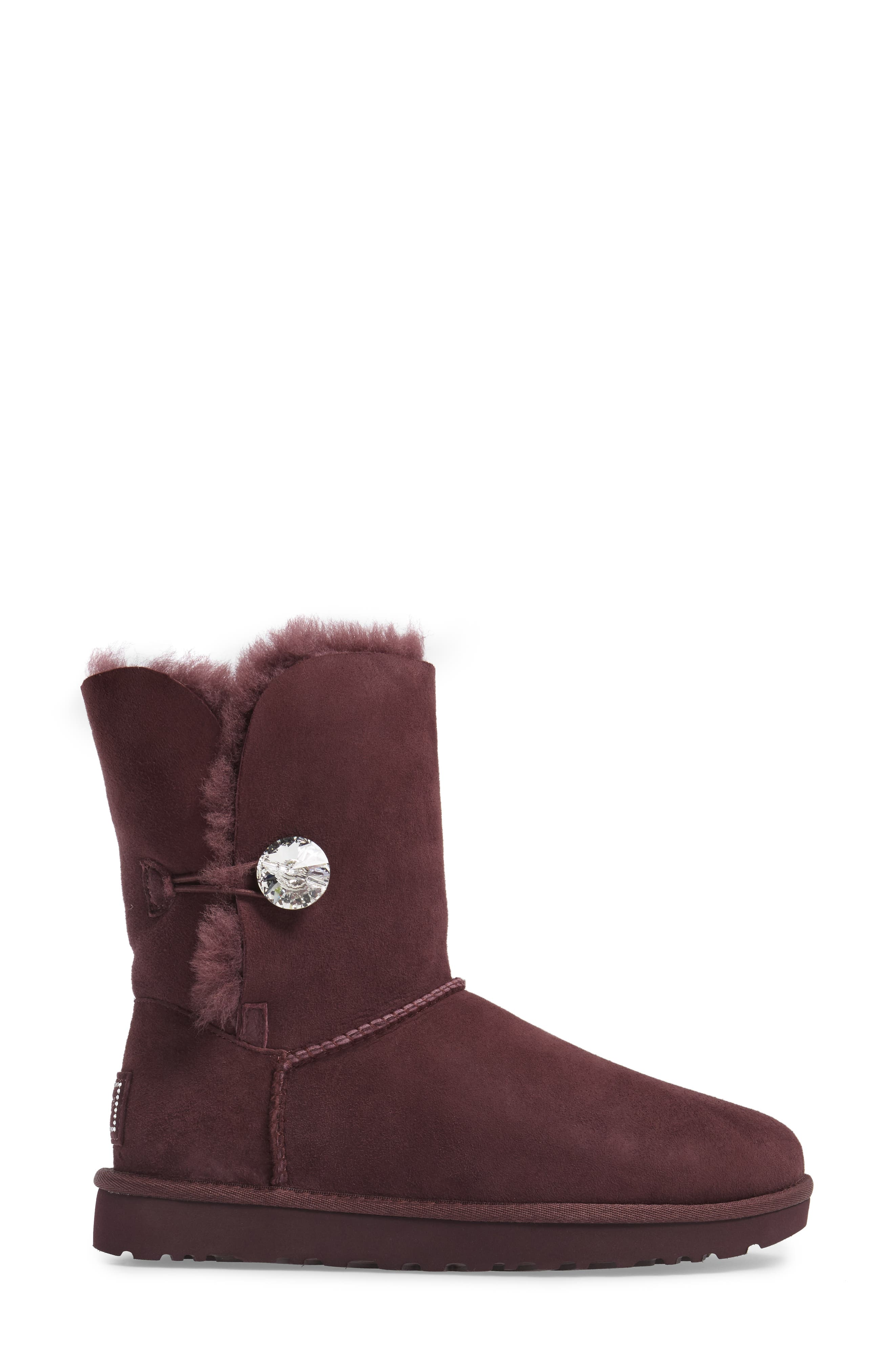 Alternate Image 3  - UGG® Bailey Button Bling Genuine Shearling Boot (Women)