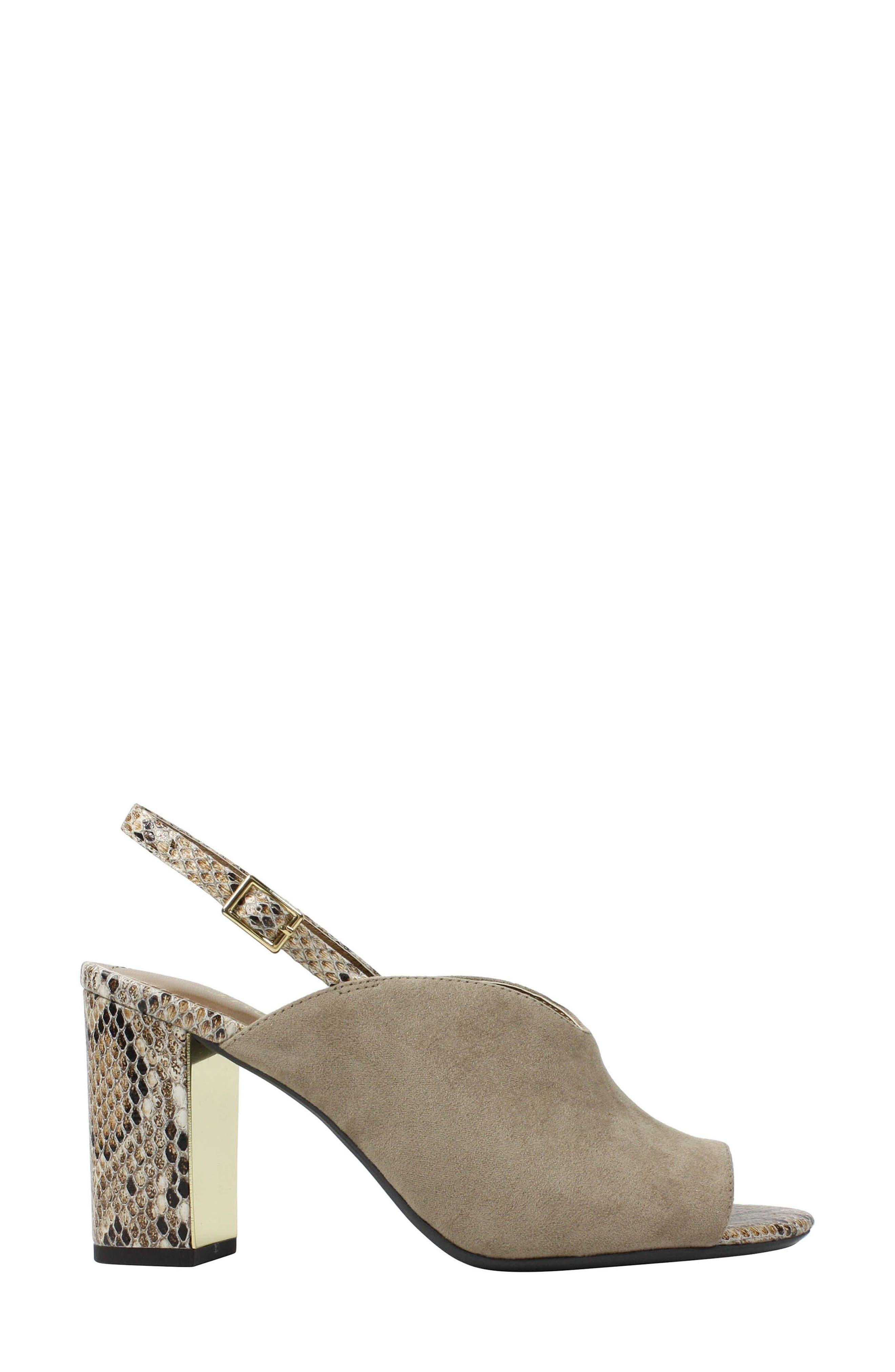 Alternate Image 2  - J. Reneé Maarya Block Heel Sandal (Women)