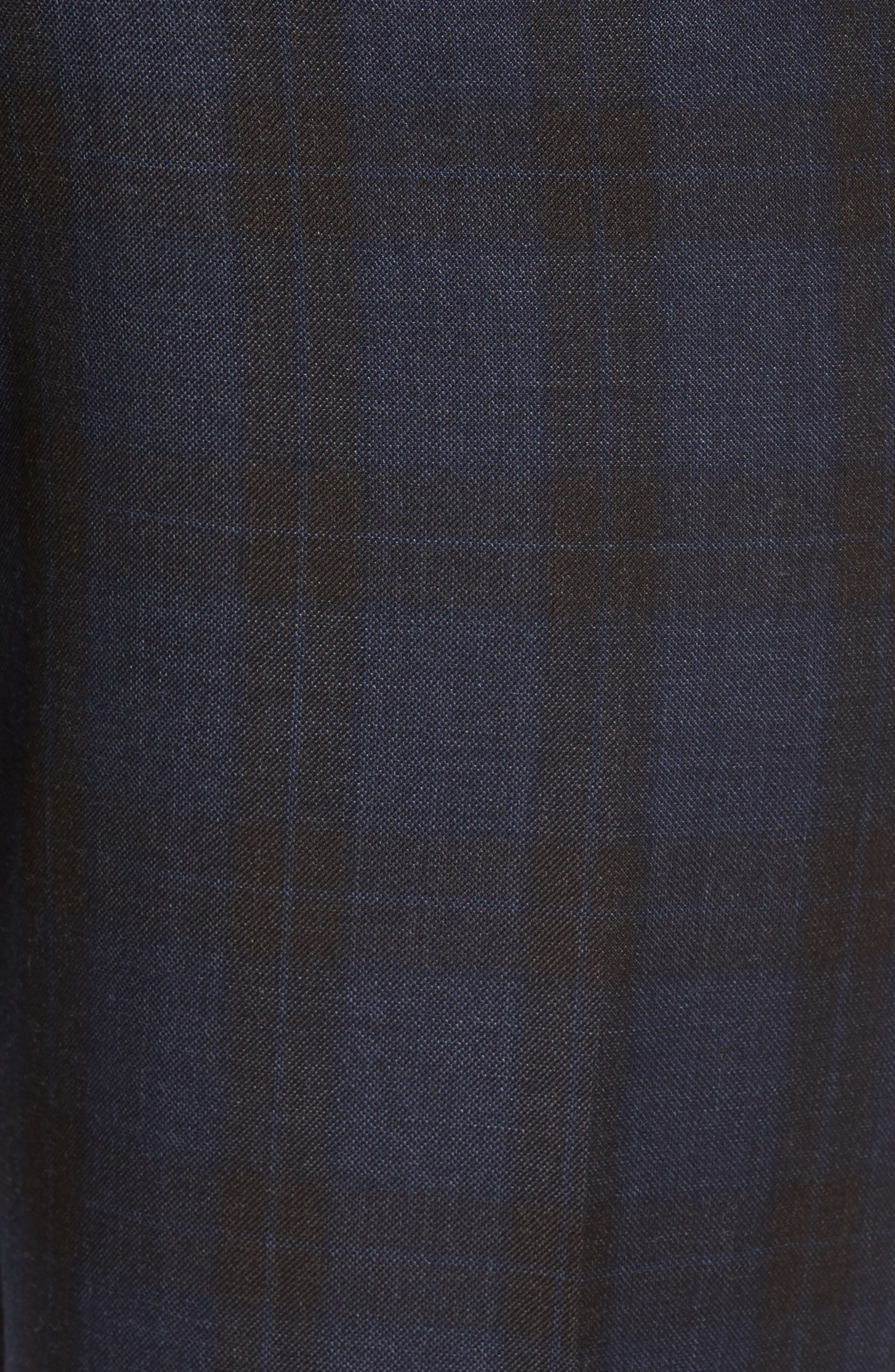 Alternate Image 2  - Ted Baker London Jefferson Flat Front Plaid Wool Trousers