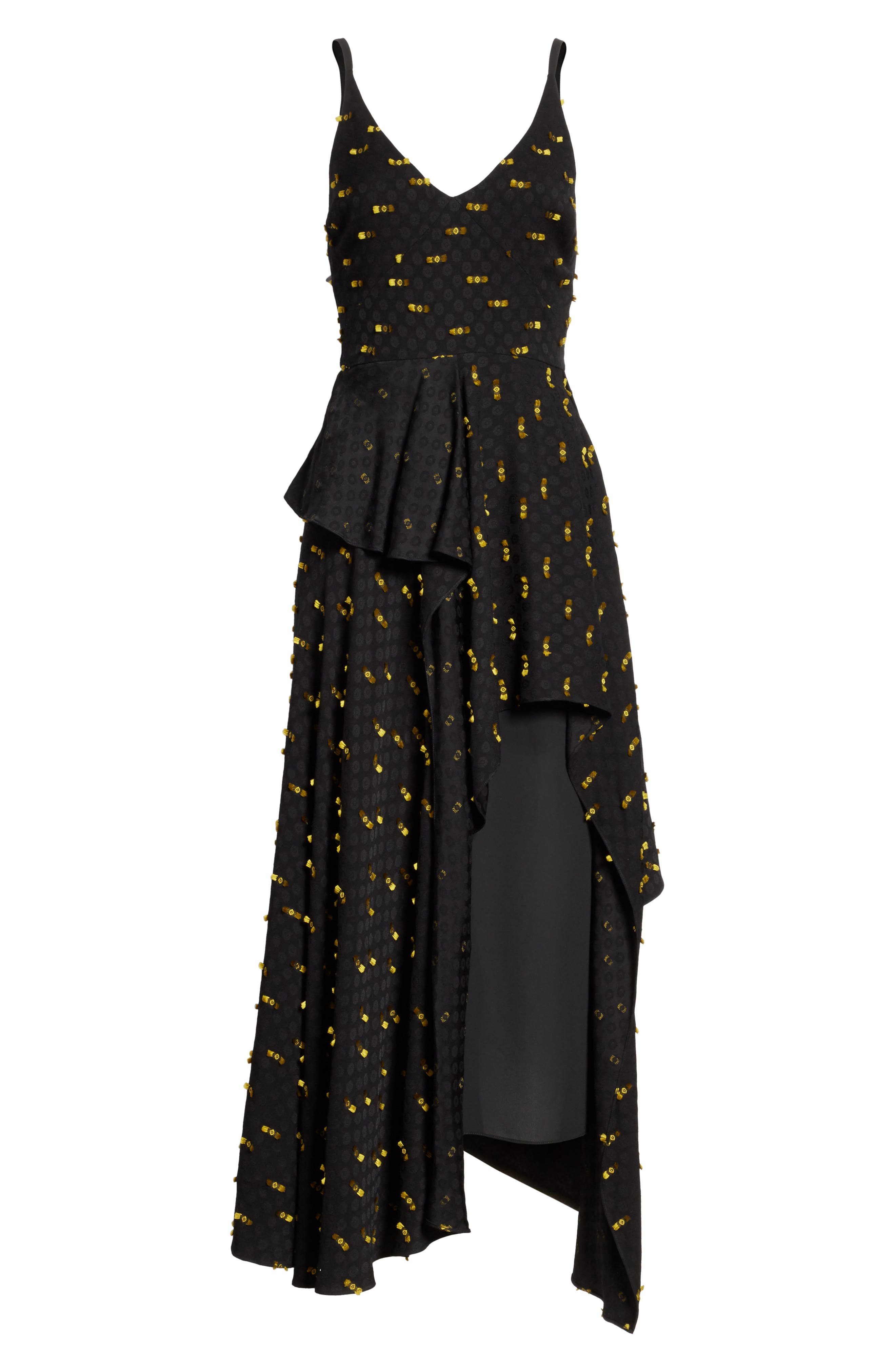 Catch Crepe Maxi Dress,                             Alternate thumbnail 6, color,                             Black