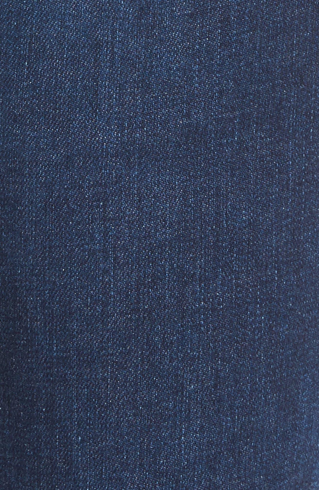 The Stilt Cigarette Leg Jeans,                             Alternate thumbnail 6, color,                             Elysium