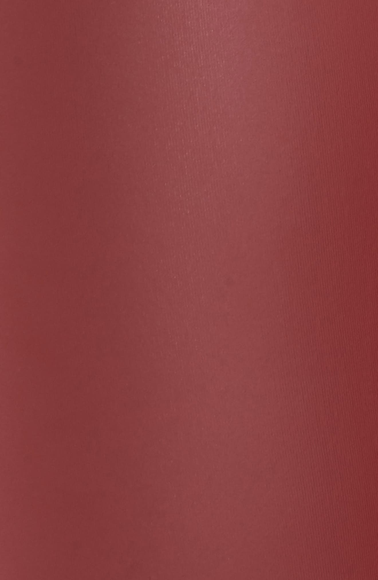 Tony Faux Leather Leggings,                             Alternate thumbnail 6, color,                             Cabernet