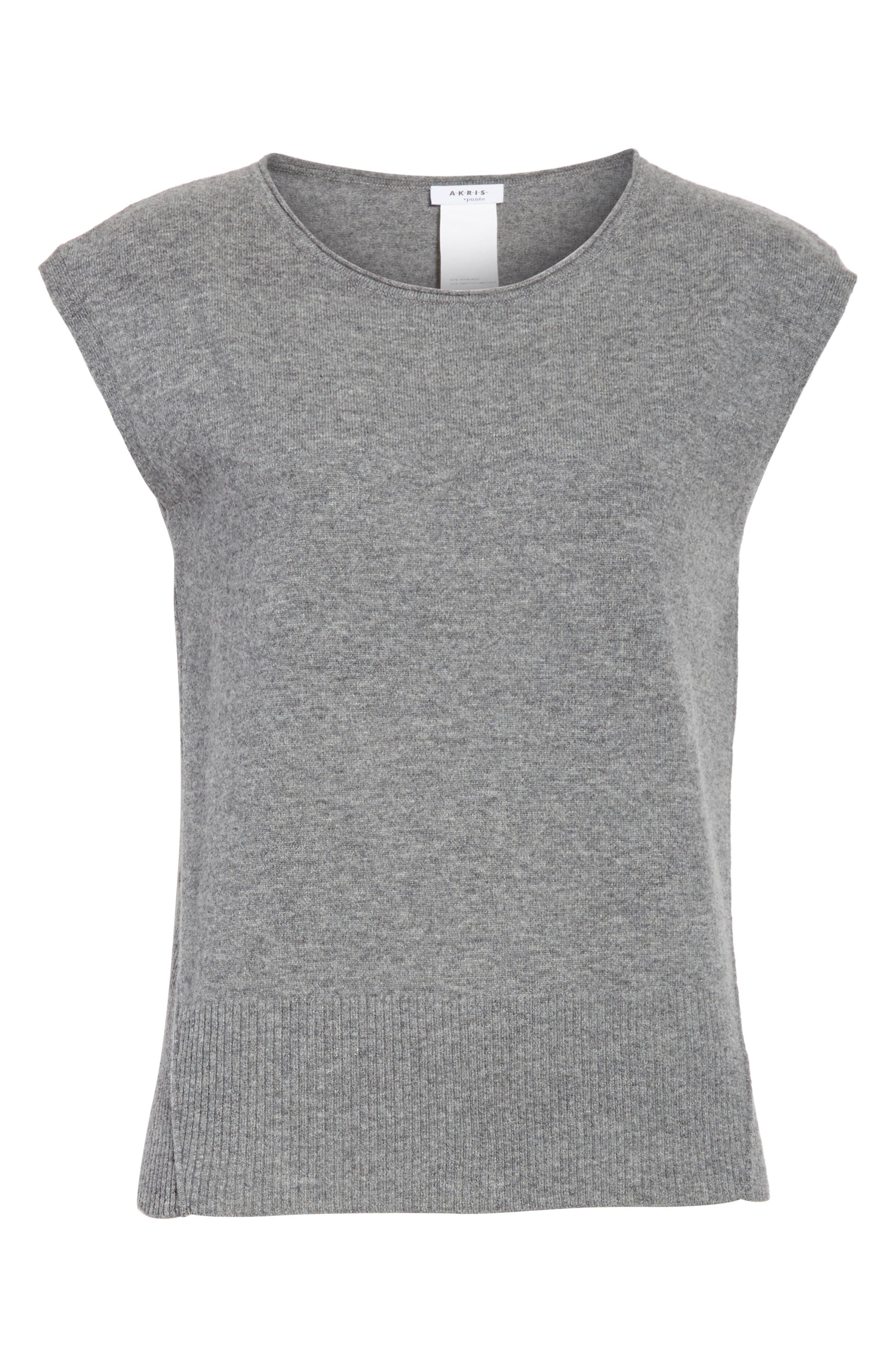 Alternate Image 6  - Akris punto Wool & Cashmere Knit Top