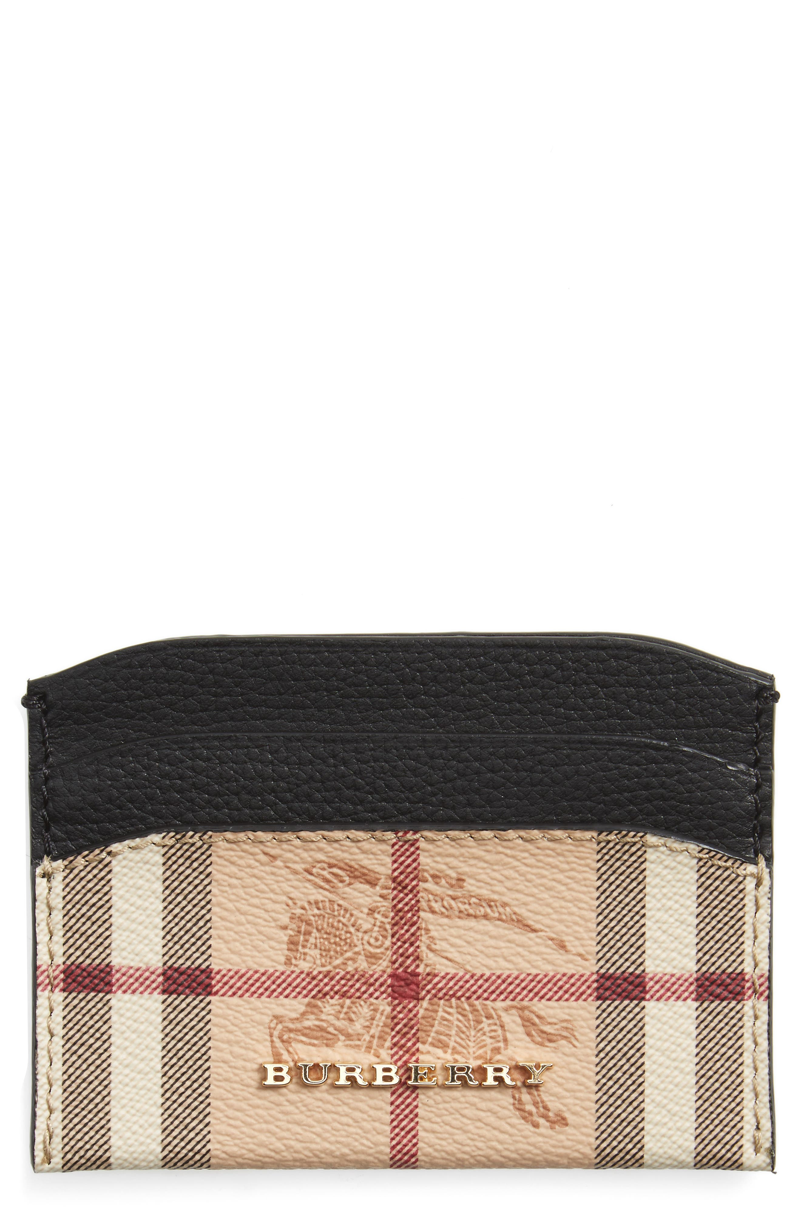 Alternate Image 1 Selected - Burberry Izzy Card Case